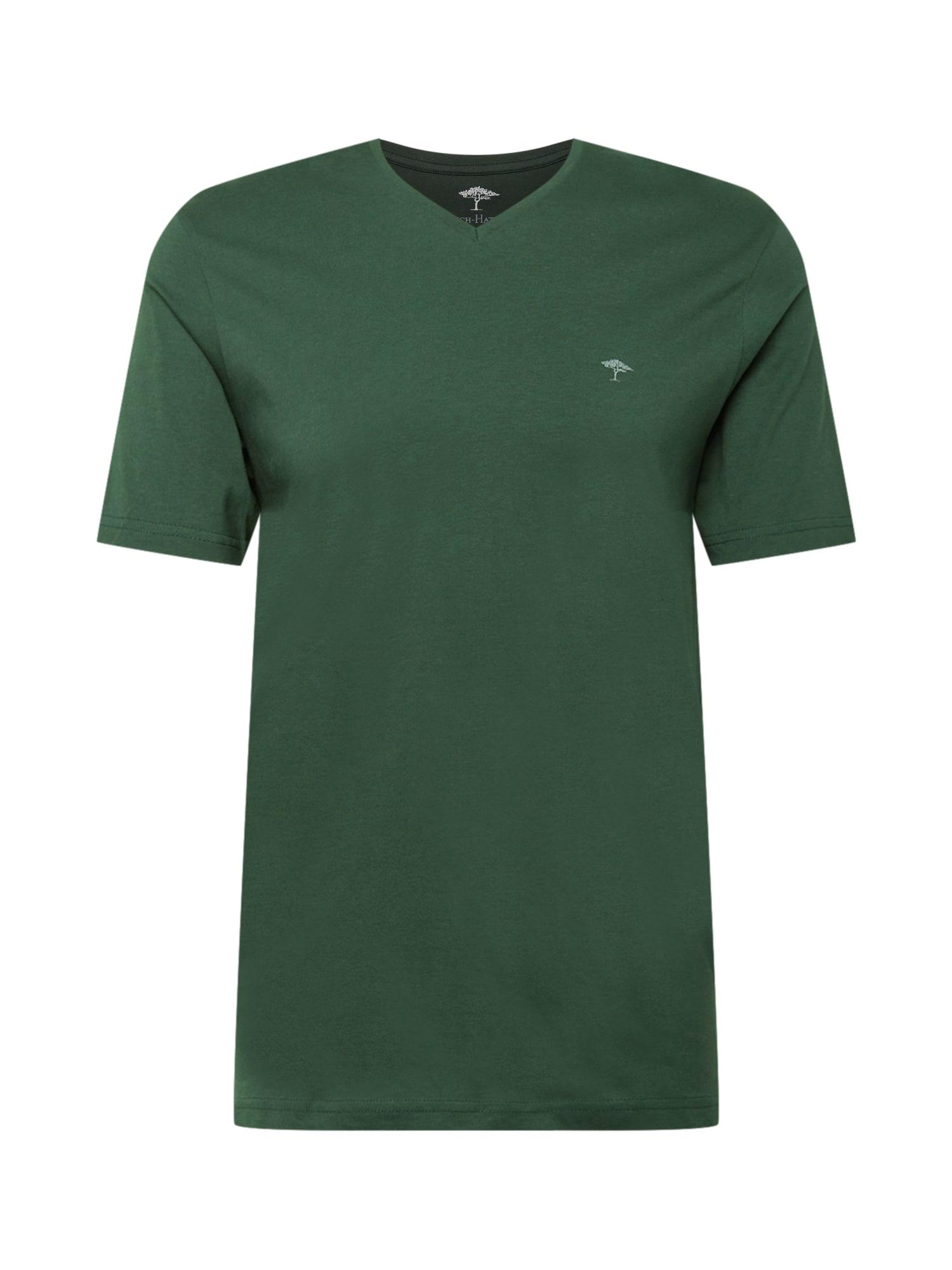 FYNCH-HATTON Marškinėliai tamsiai žalia