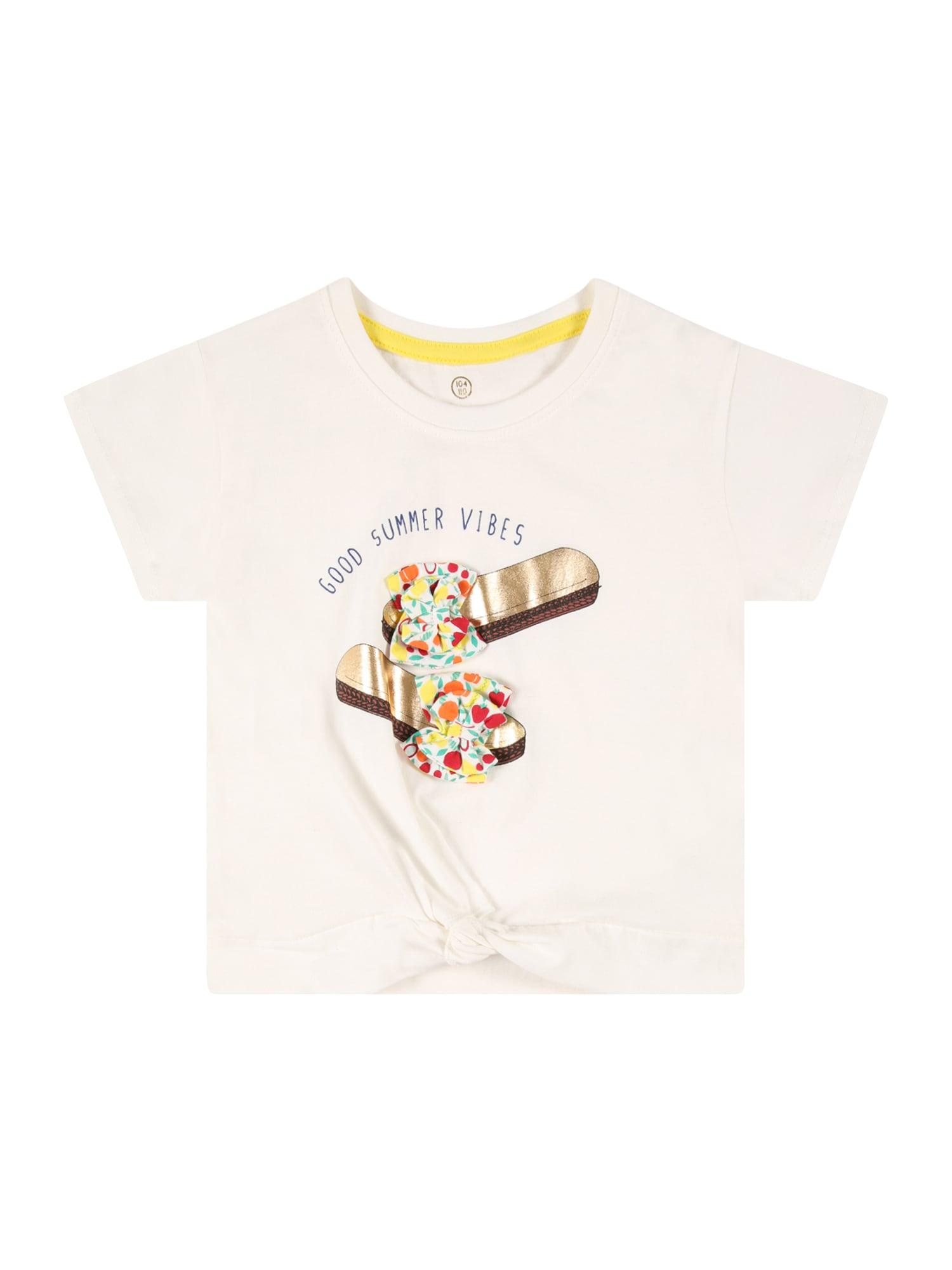 LEMON BERET Marškinėliai natūrali balta / auksas / mėlyna / geltona / oranžinė
