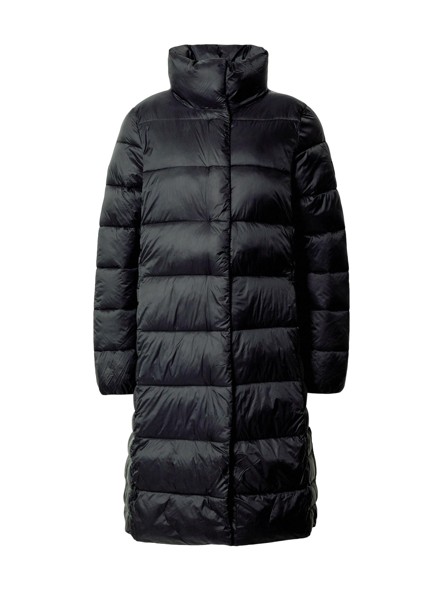 STREET ONE Zimní kabát  černá