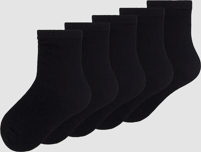 Name It Mini schwarze Socken im 5er-Pack