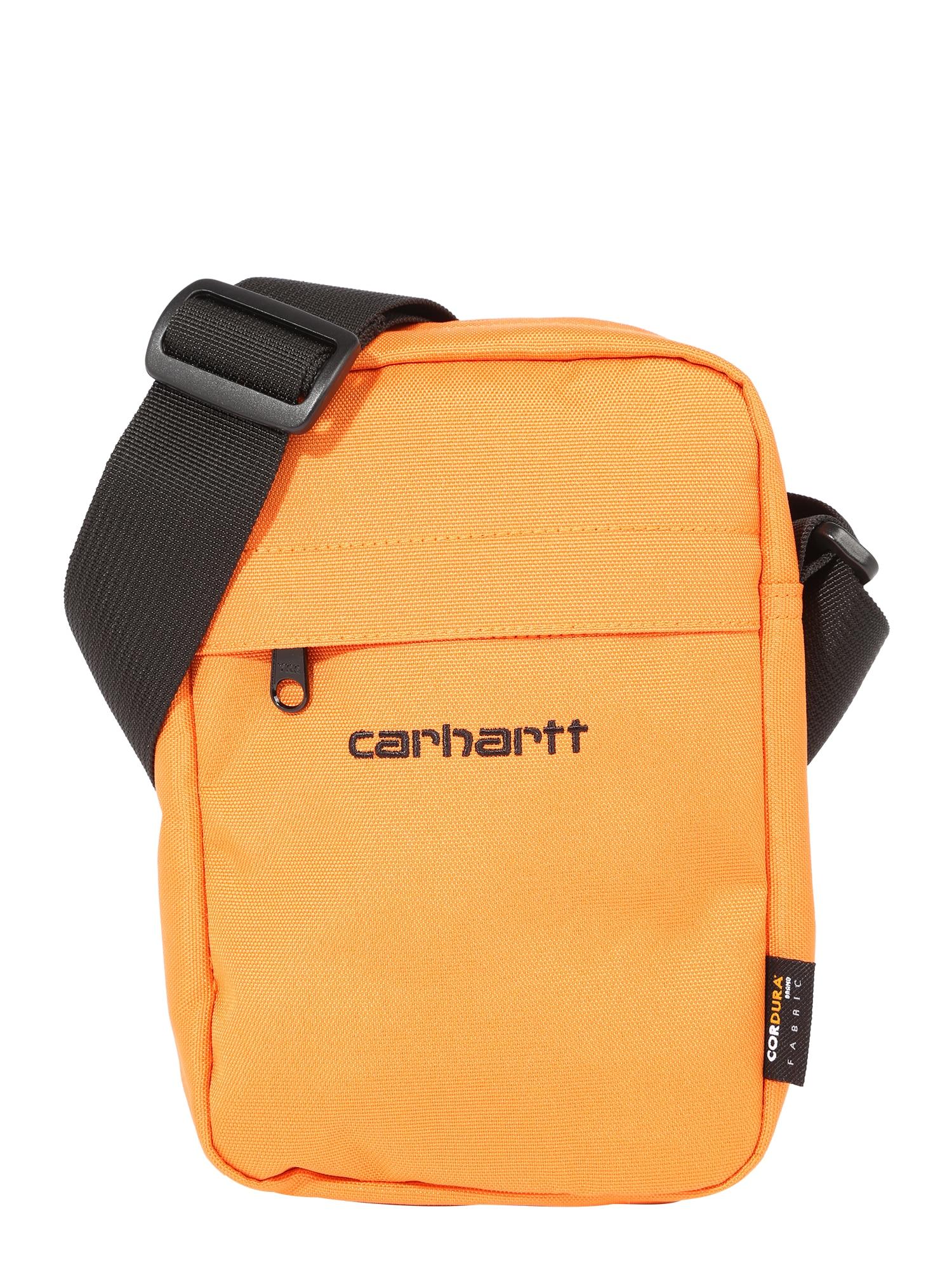 Carhartt WIP Rankinė su ilgu dirželiu oranžinė / juoda