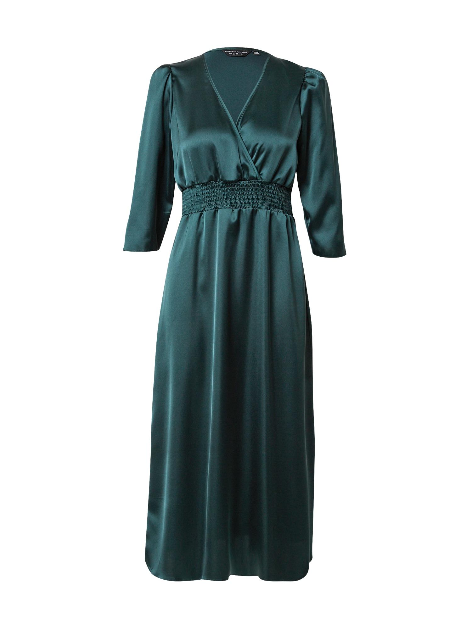 Dorothy Perkins Vakarinė suknelė smaragdinė spalva