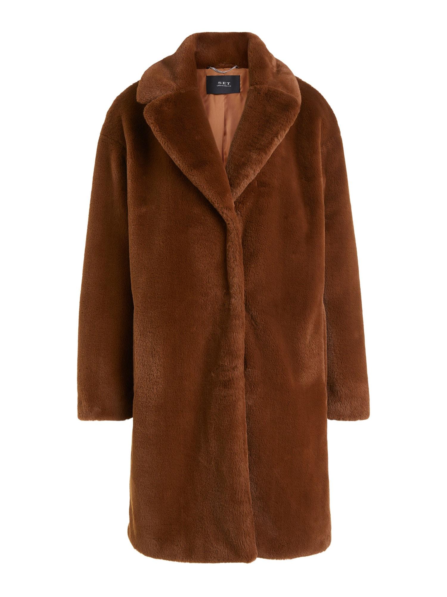 SET Zimní kabát  hnědá
