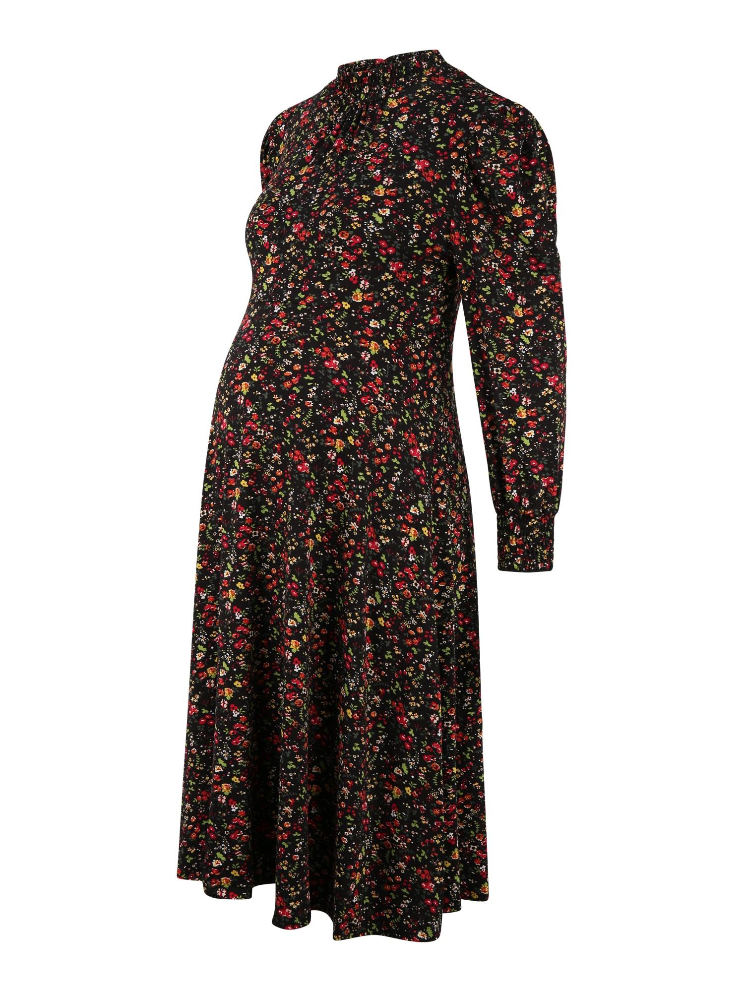 Dorothy Perkins Maternity Suknelė juoda / mišrios spalvos