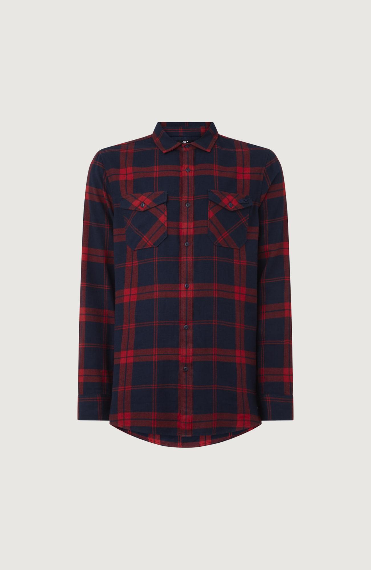 O'NEILL Košile 'Check'  červená / modrá