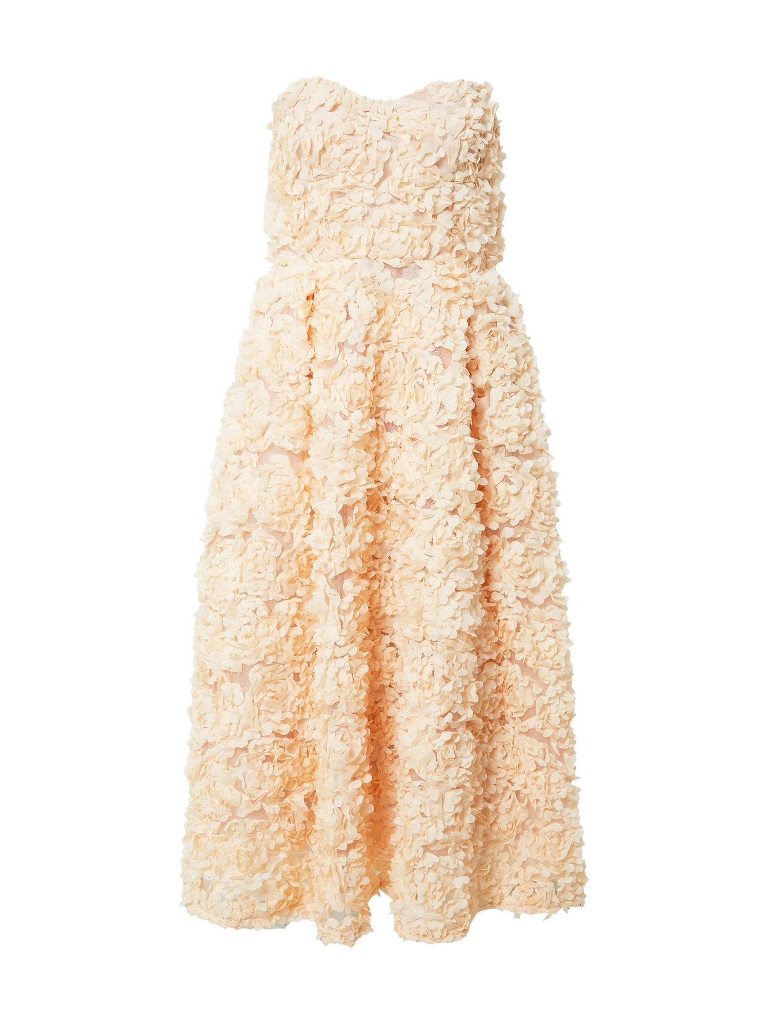 True Decadence Kokteilinė suknelė persikų spalva