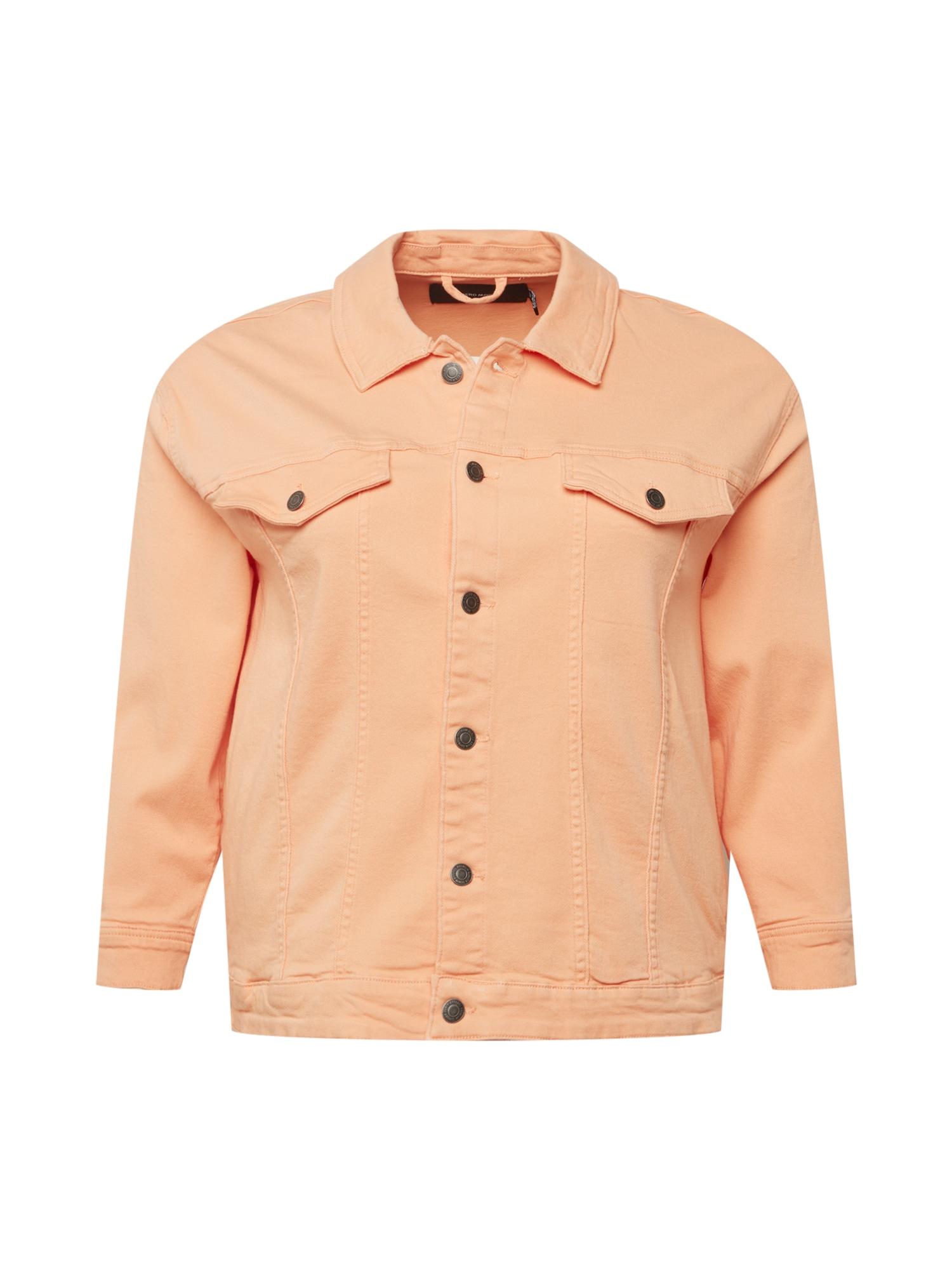 Vero Moda Curve Demisezoninė striukė abrikosų spalva