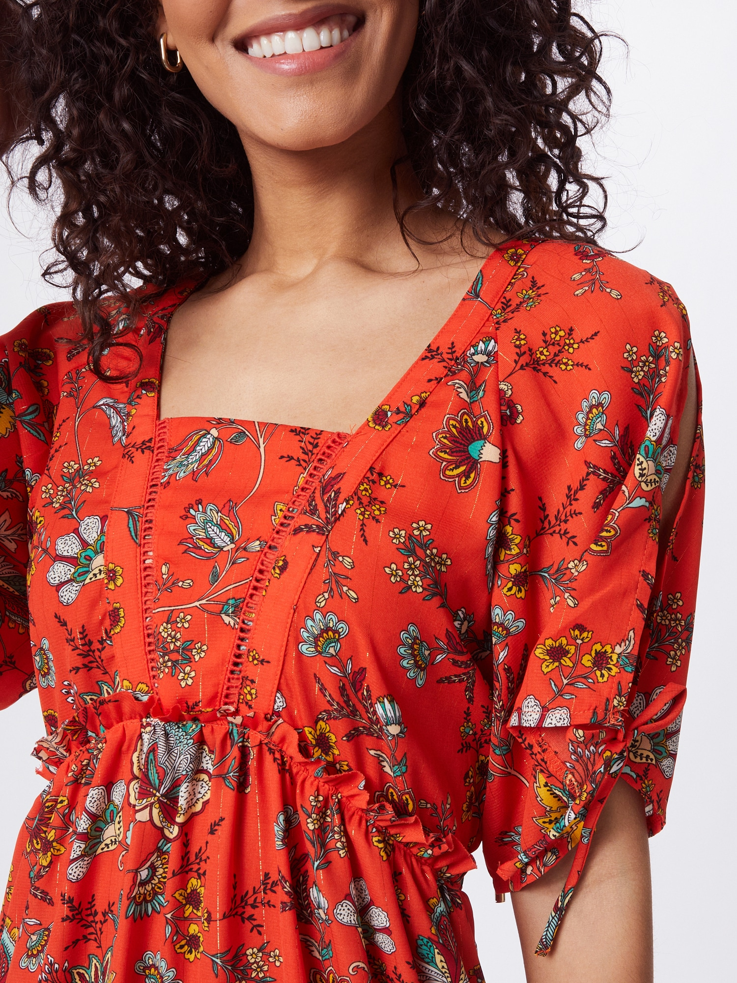 Molly BRACKEN Šaty  ohnivo červená / zmiešané farby.