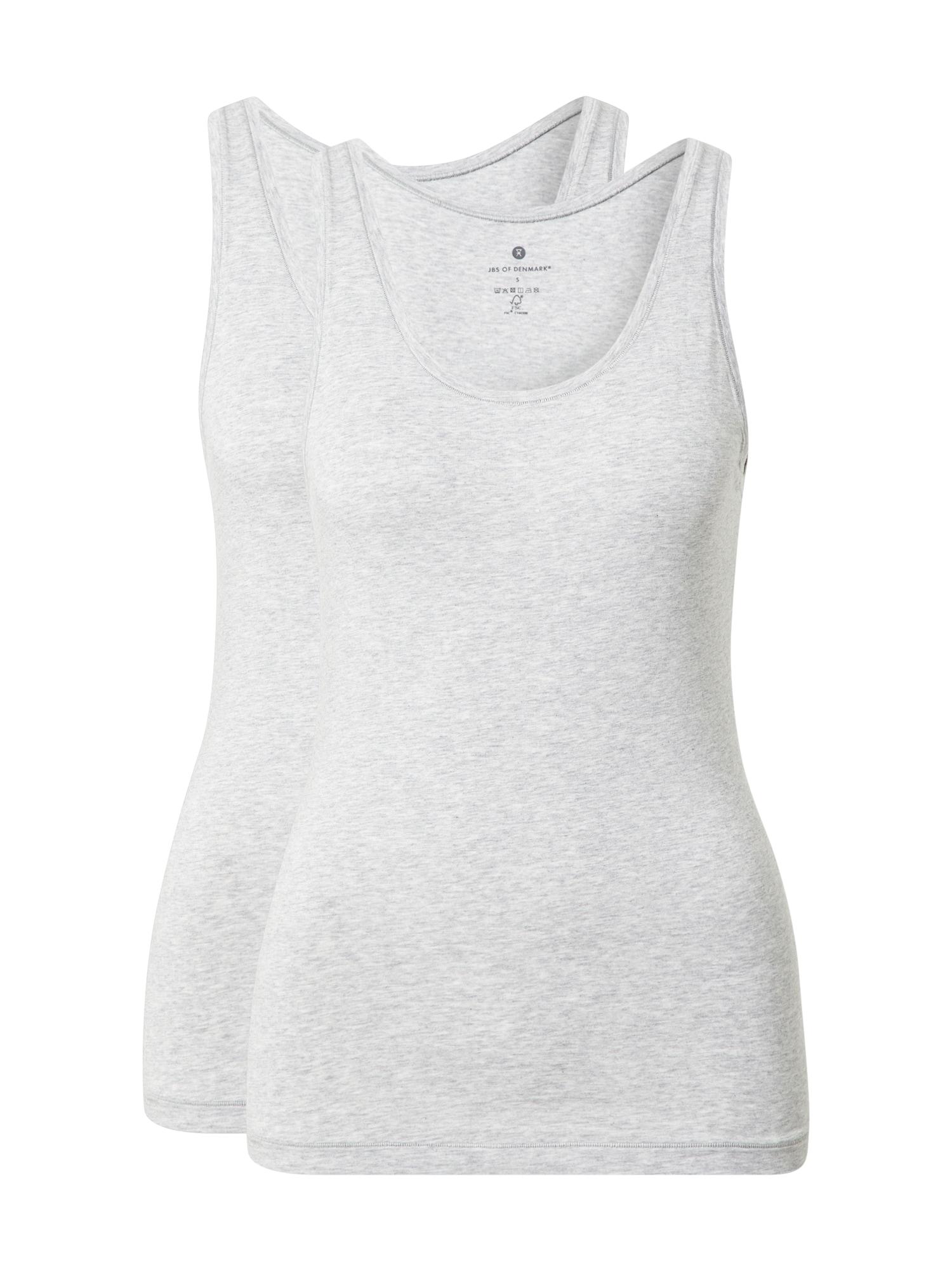 JBS OF DENMARK Apatiniai marškinėliai šviesiai pilka