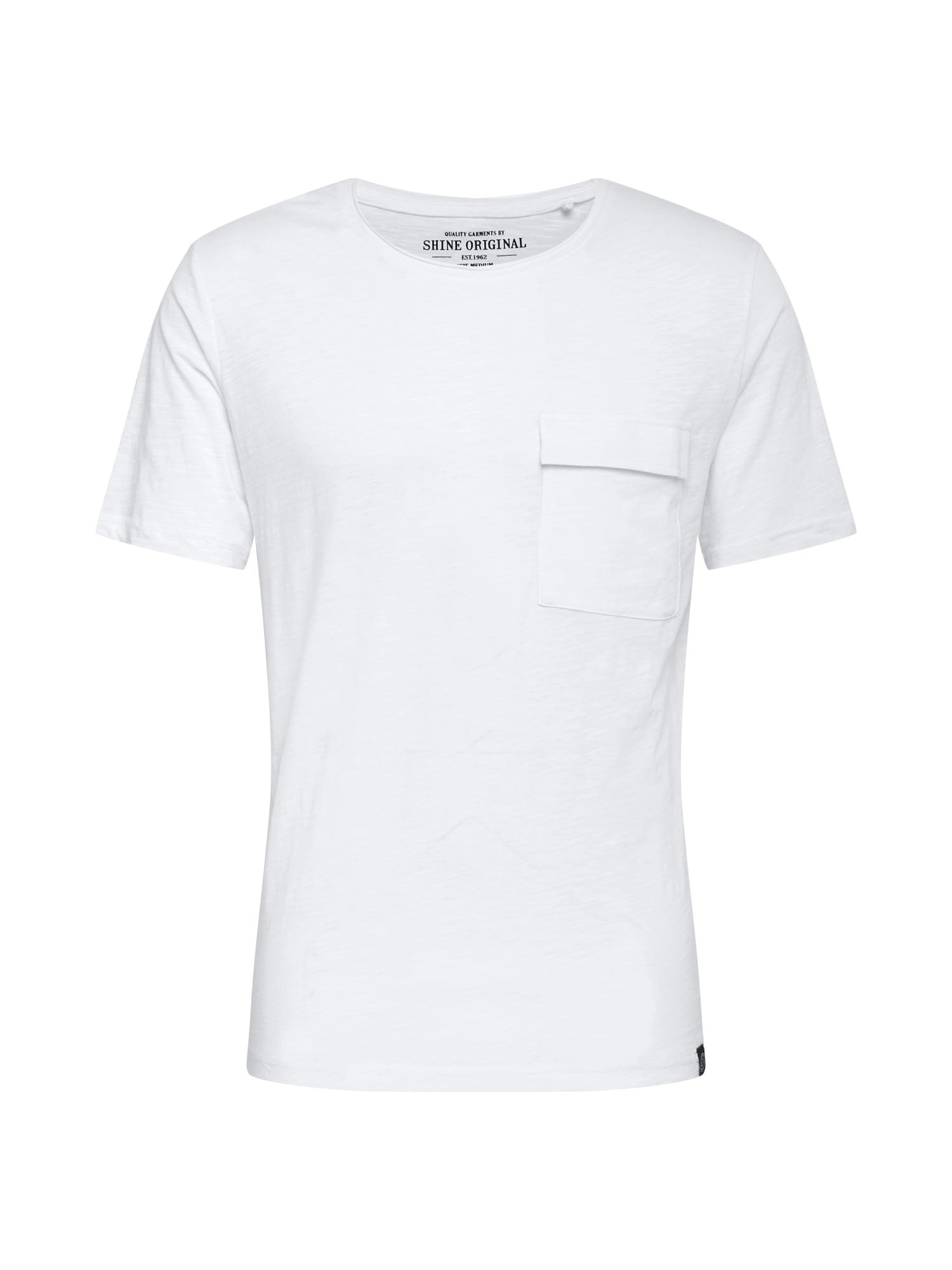 SHINE ORIGINAL Marškinėliai balkšva