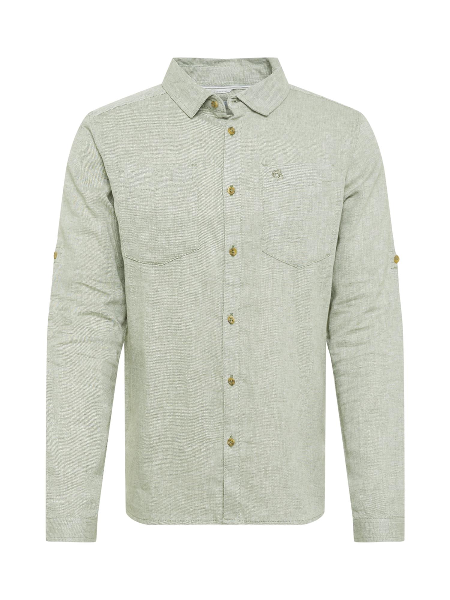CRAGHOPPERS Funkciniai marškiniai margai žalia