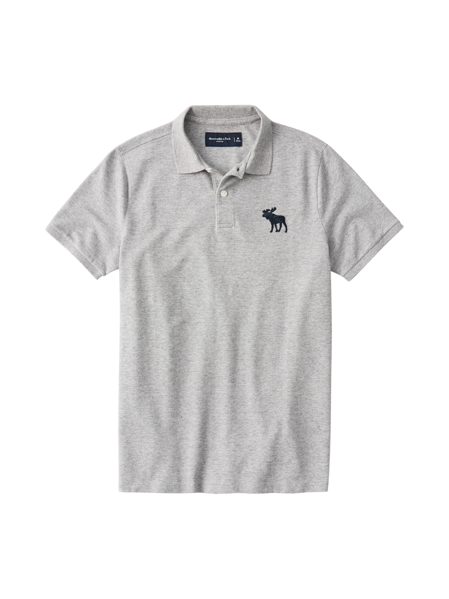Abercrombie & Fitch Marškinėliai pilka