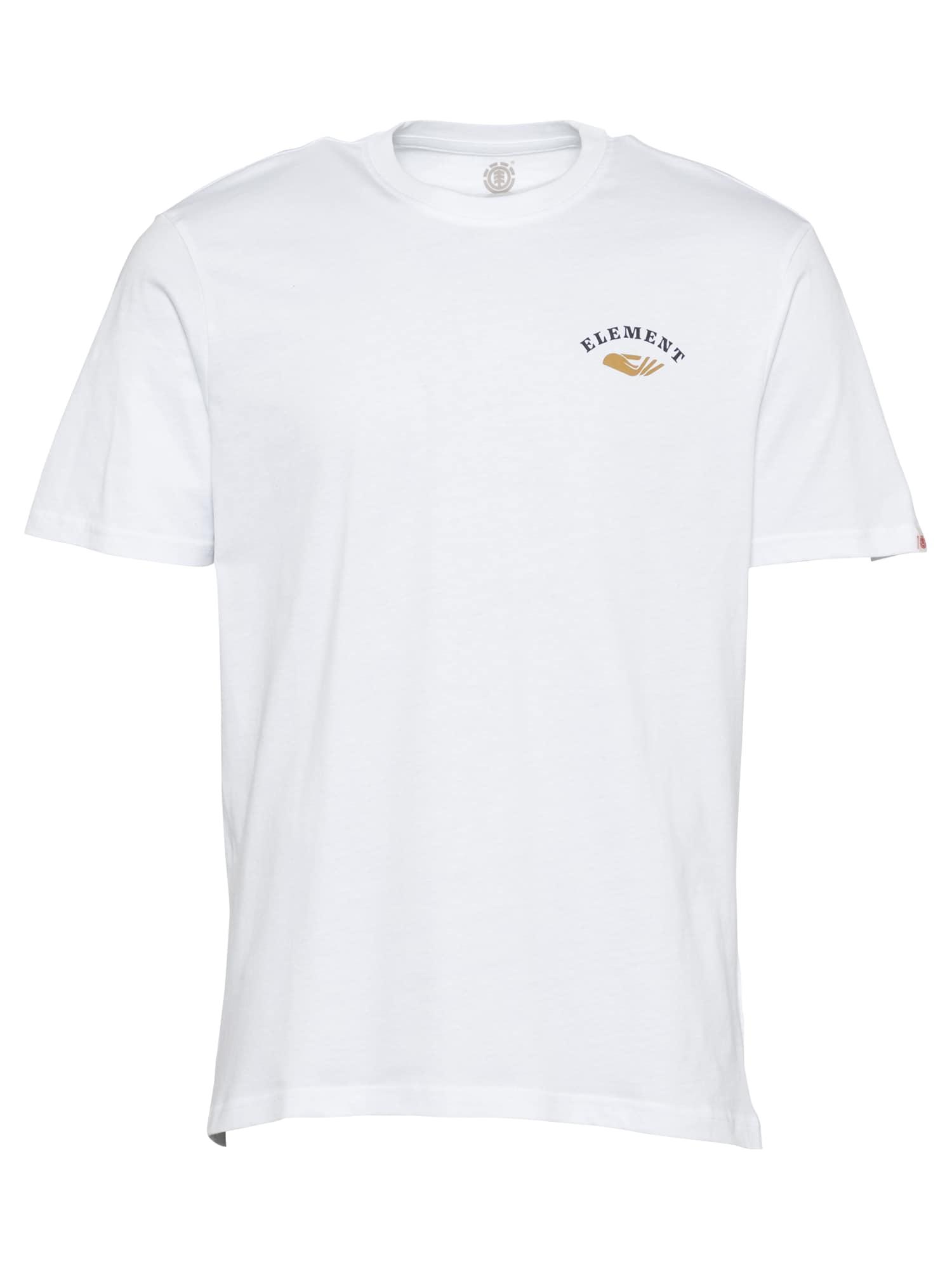 ELEMENT Marškinėliai natūrali balta / tamsiai mėlyna / turkio spalva / smėlio spalva