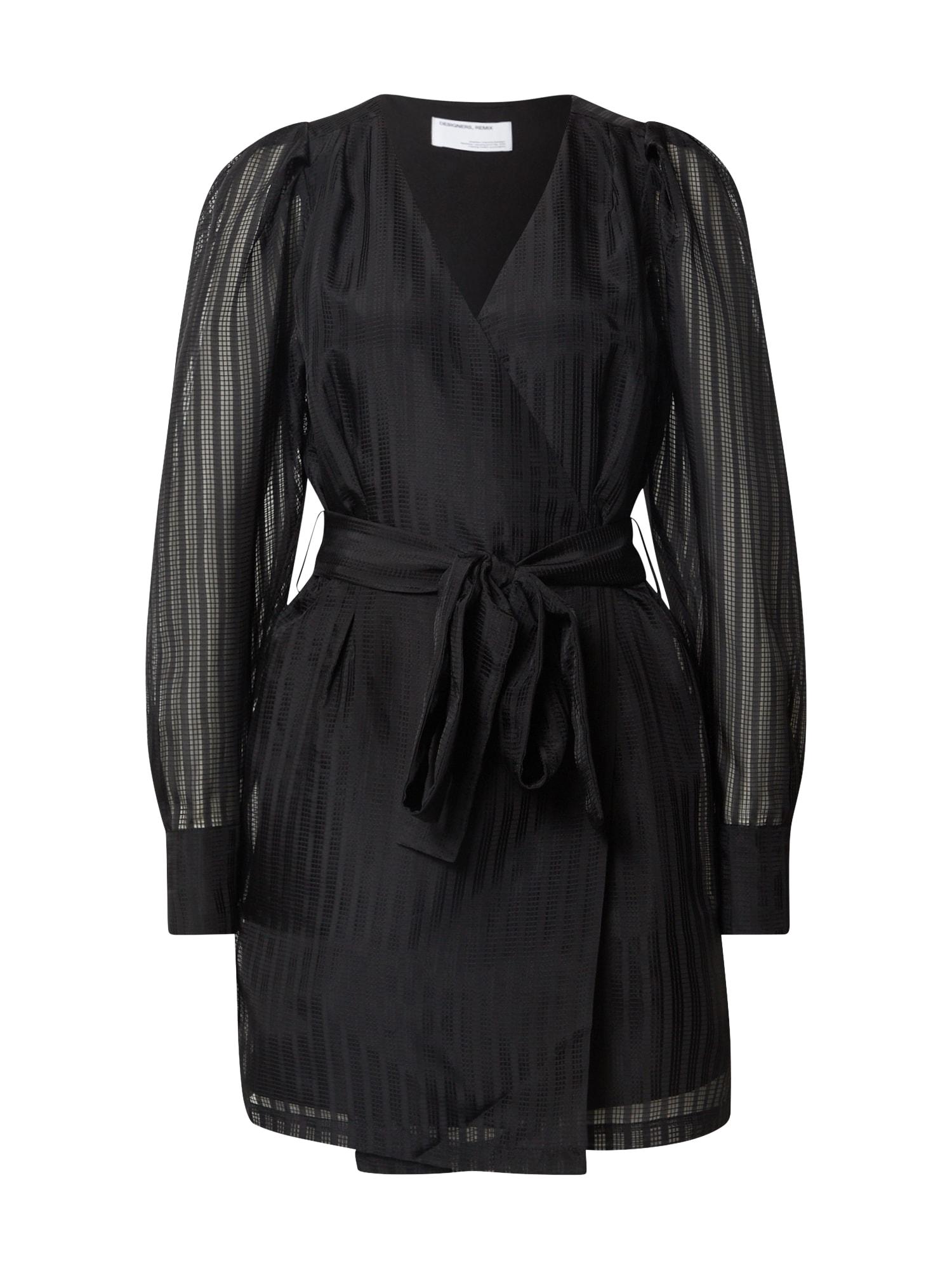 Designers Remix Suknelė juoda
