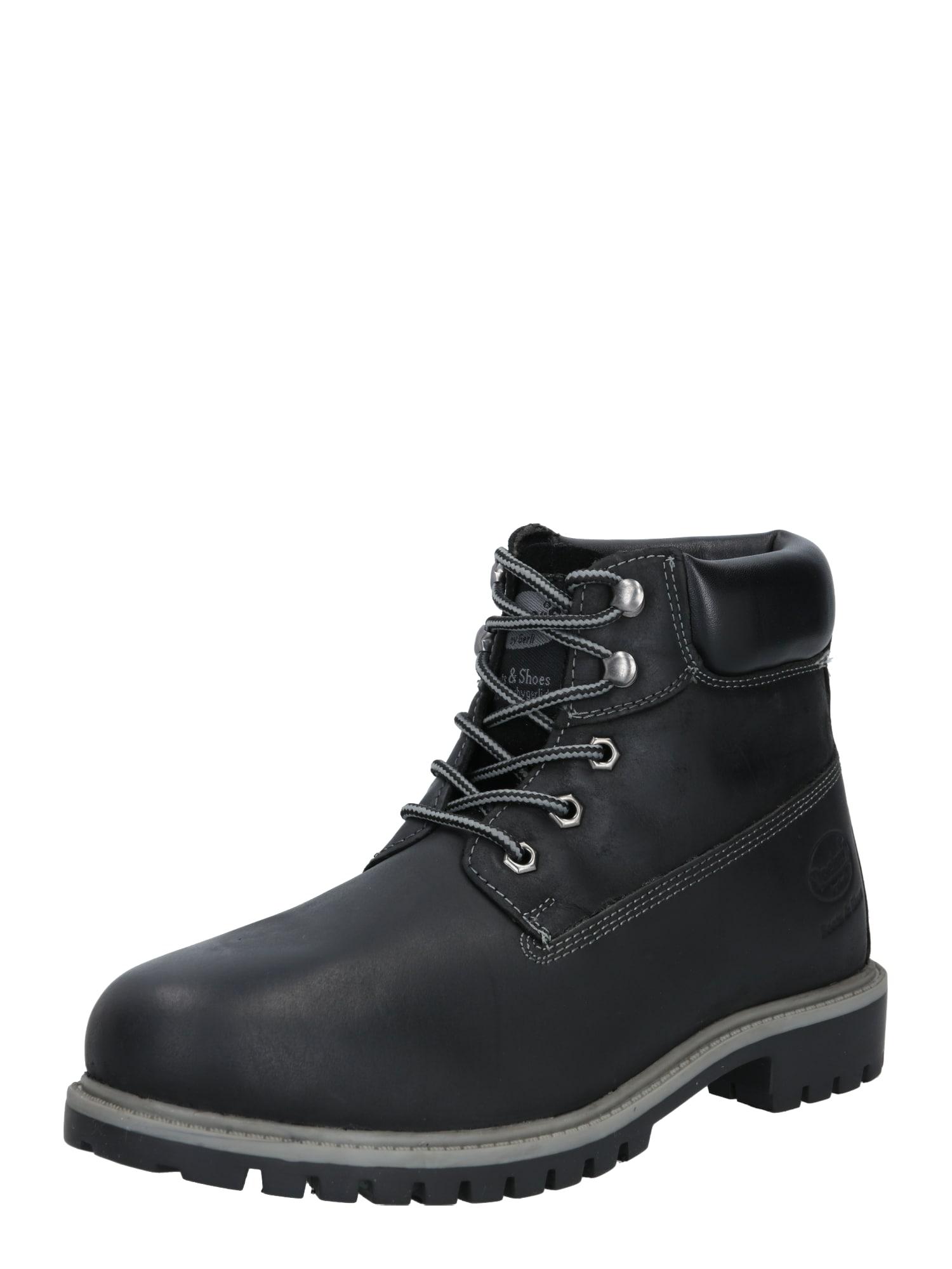 Dockers by Gerli Šněrovací boty  černá