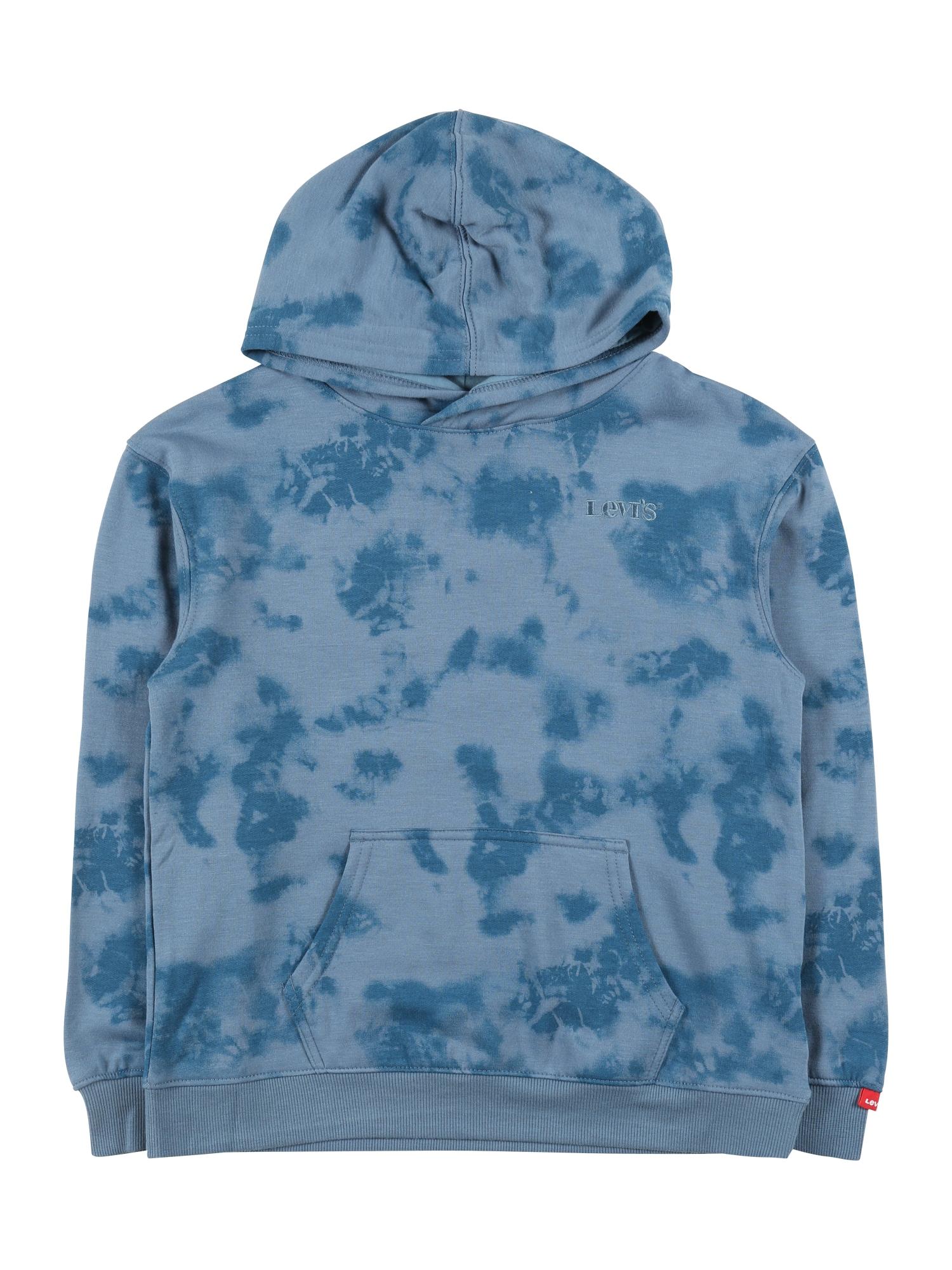 LEVI'S Mikina  kouřově modrá / chladná modrá