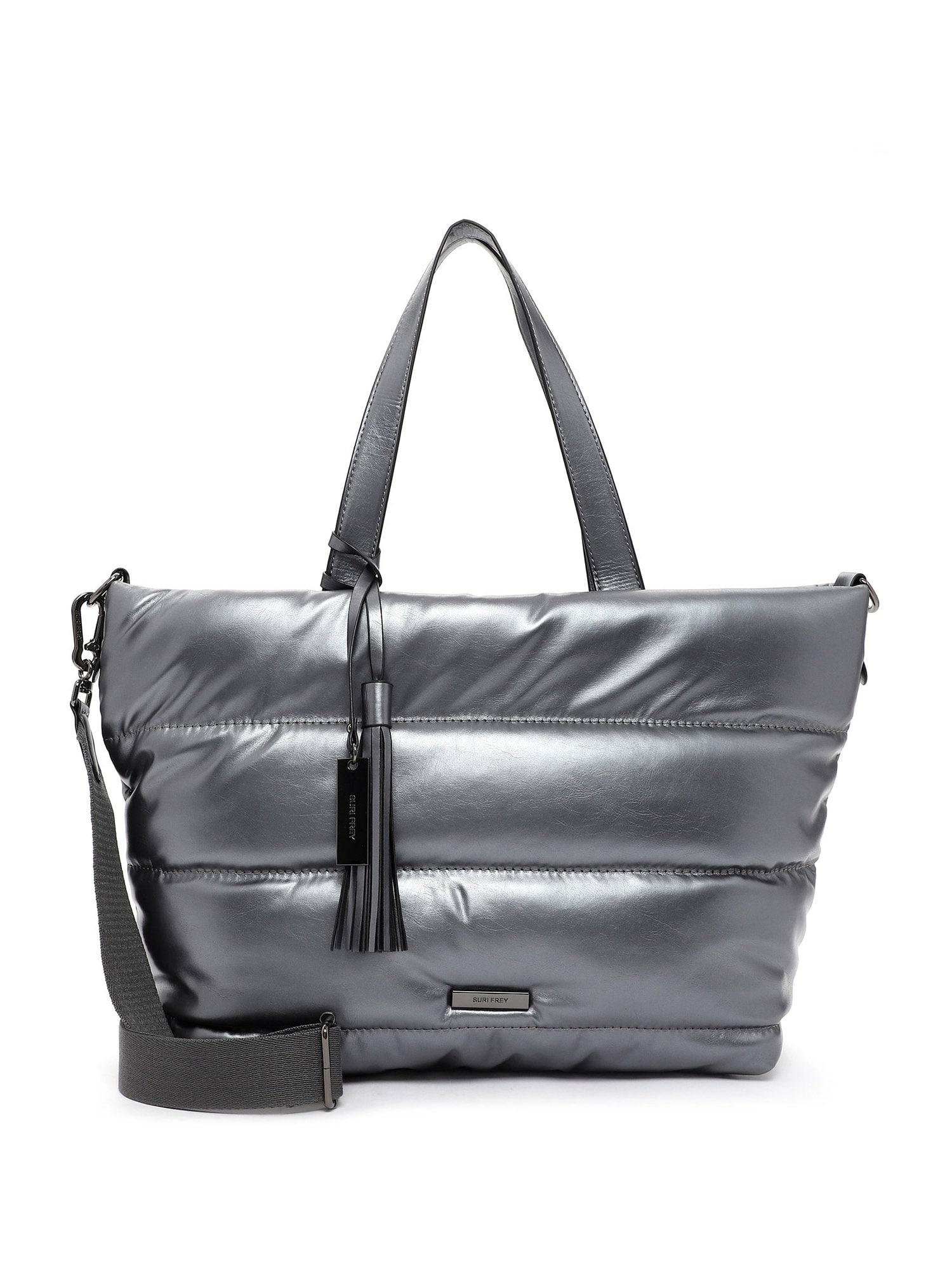 Suri Frey Nákupní taška 'Black Label Shelley'  stříbrná