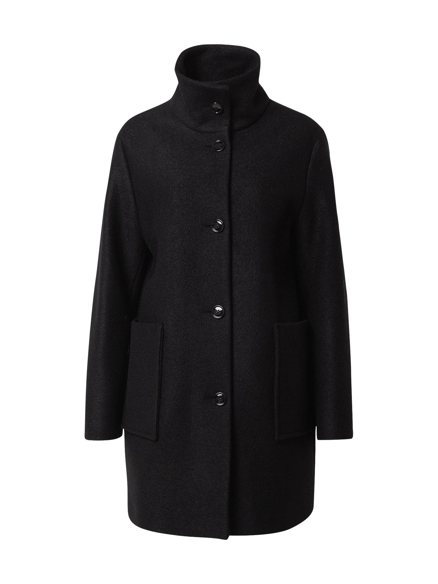 BOSS Demisezoninis paltas 'Oktober' juoda