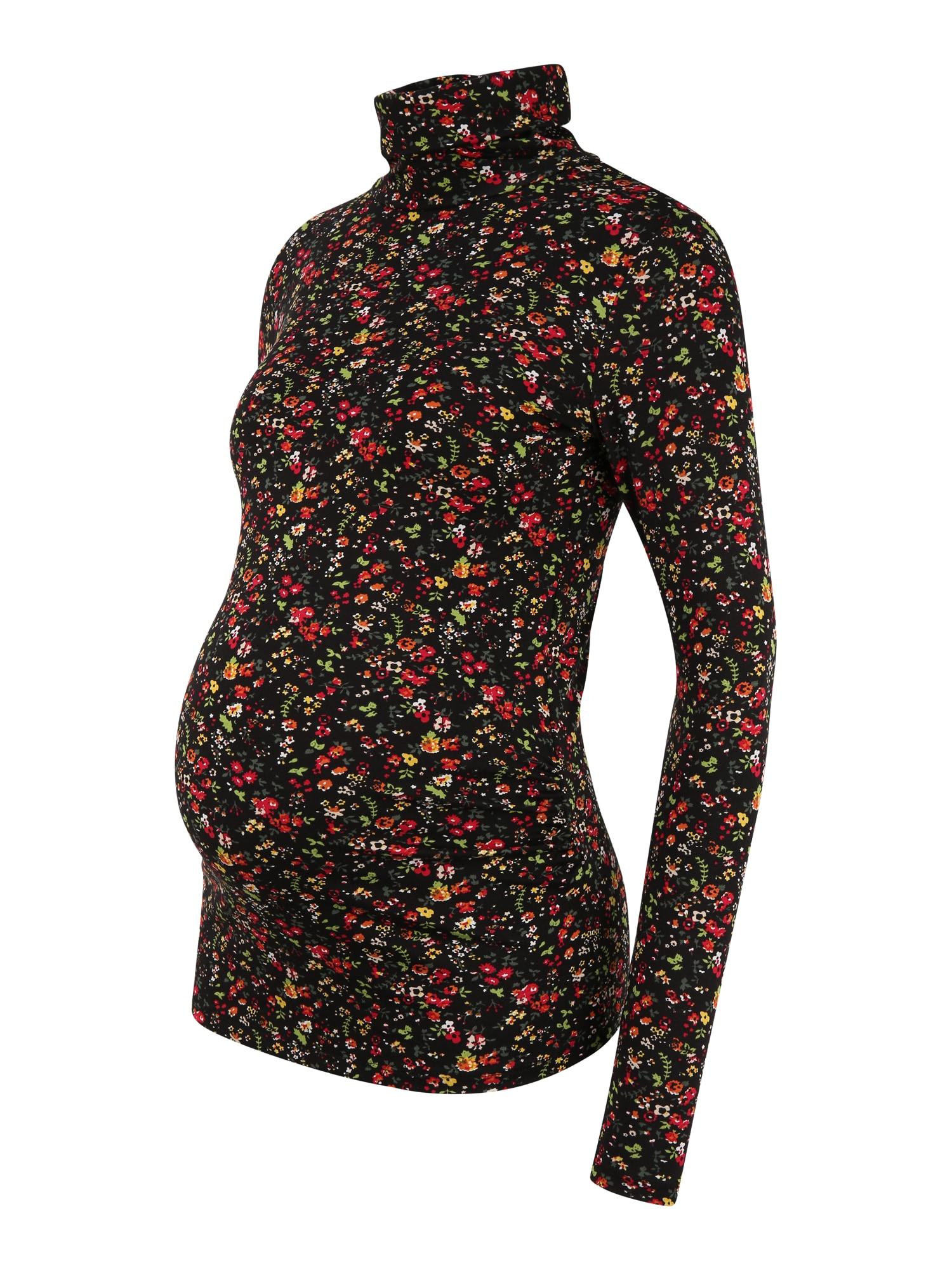 Dorothy Perkins Maternity Megztinis juoda / oranžinė / žalia / balta / raudona