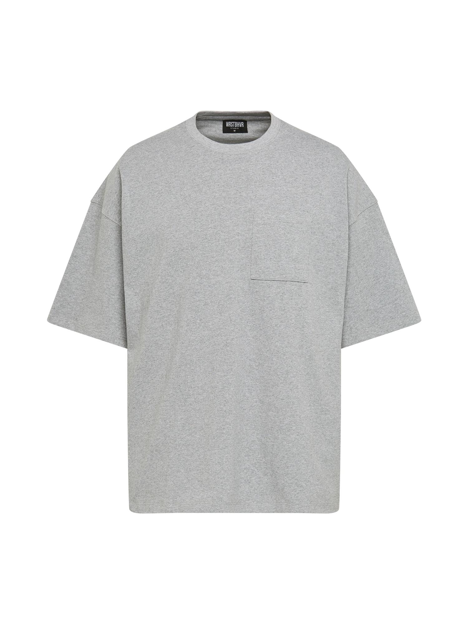 Worst Behavior Marškinėliai margai pilka