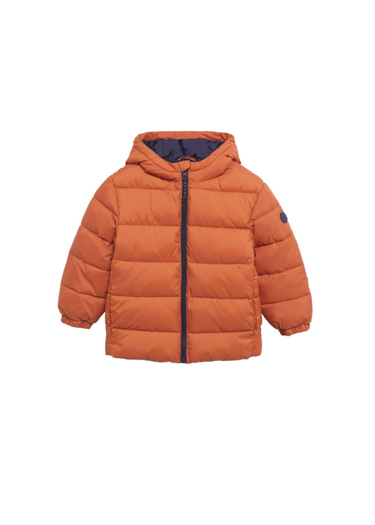 MANGO KIDS Přechodná bunda 'America'  oranžová