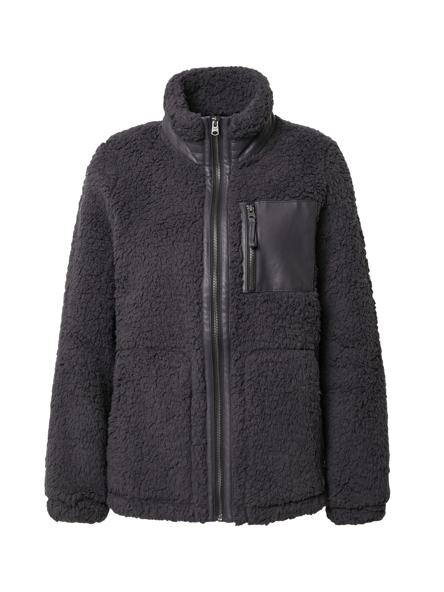 Abercrombie & Fitch Flisinis džemperis pilka