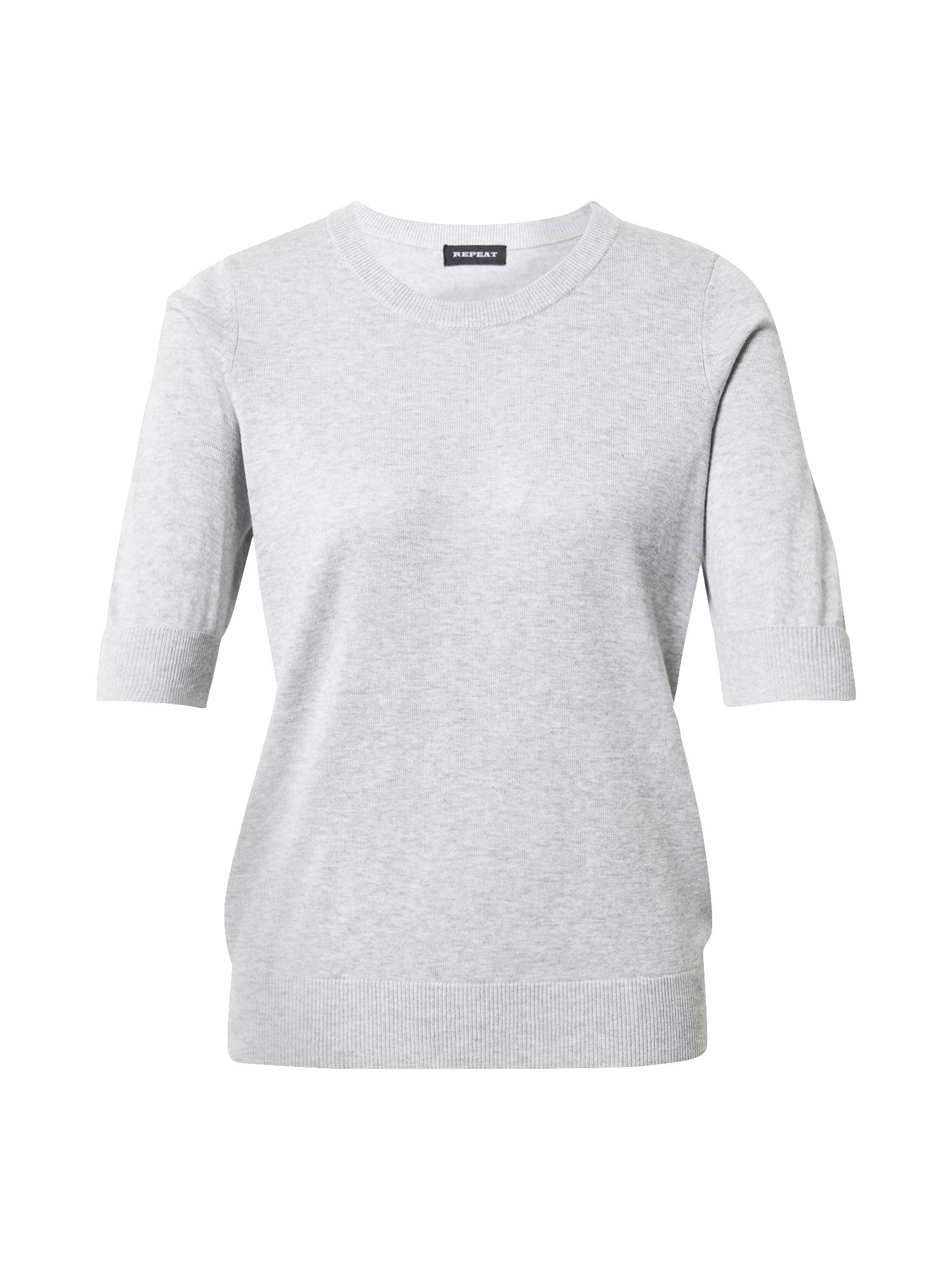 REPEAT Megztinis šviesiai pilka