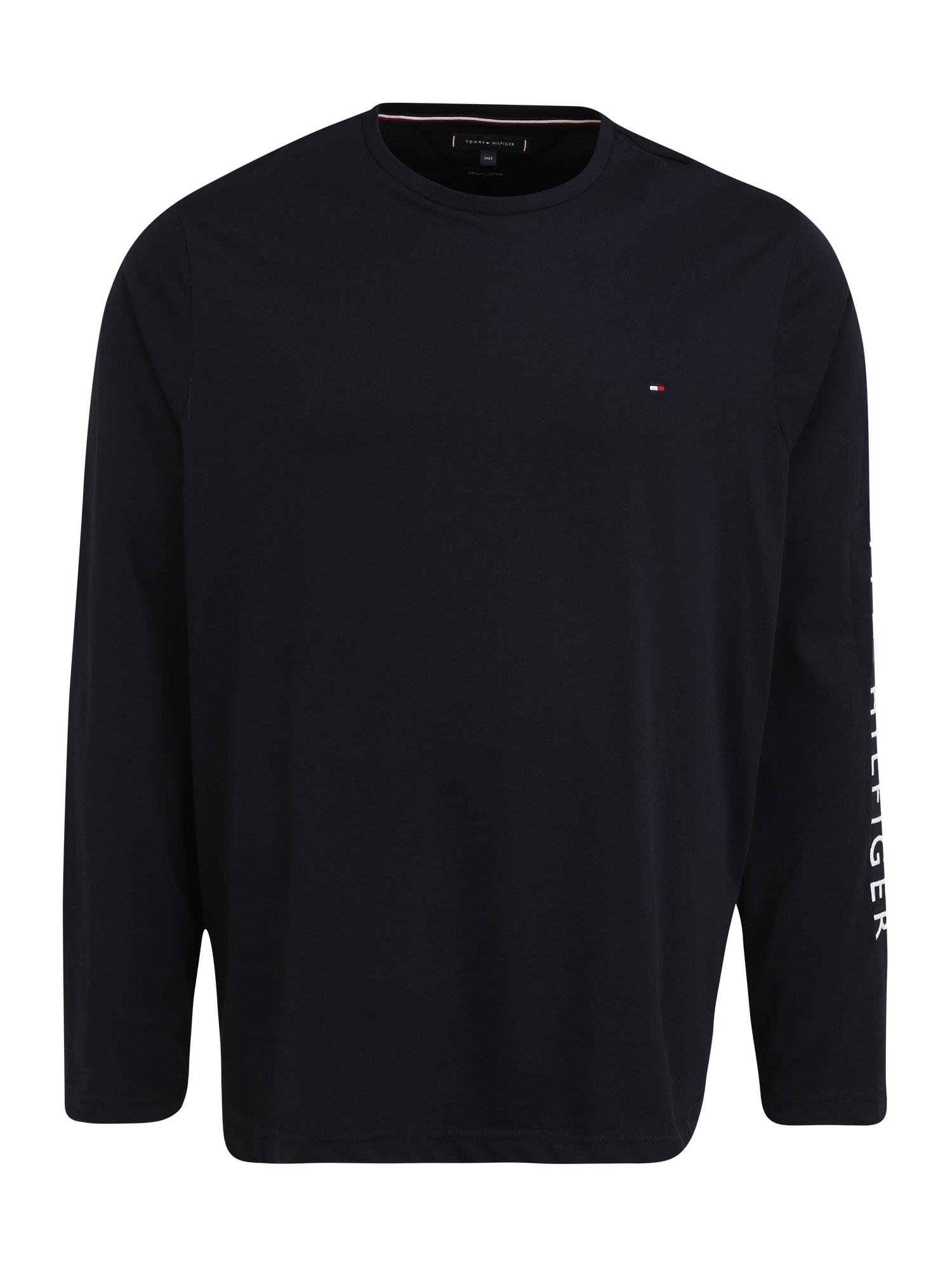 Tommy Hilfiger Big & Tall Marškinėliai balta / raudona / nakties mėlyna