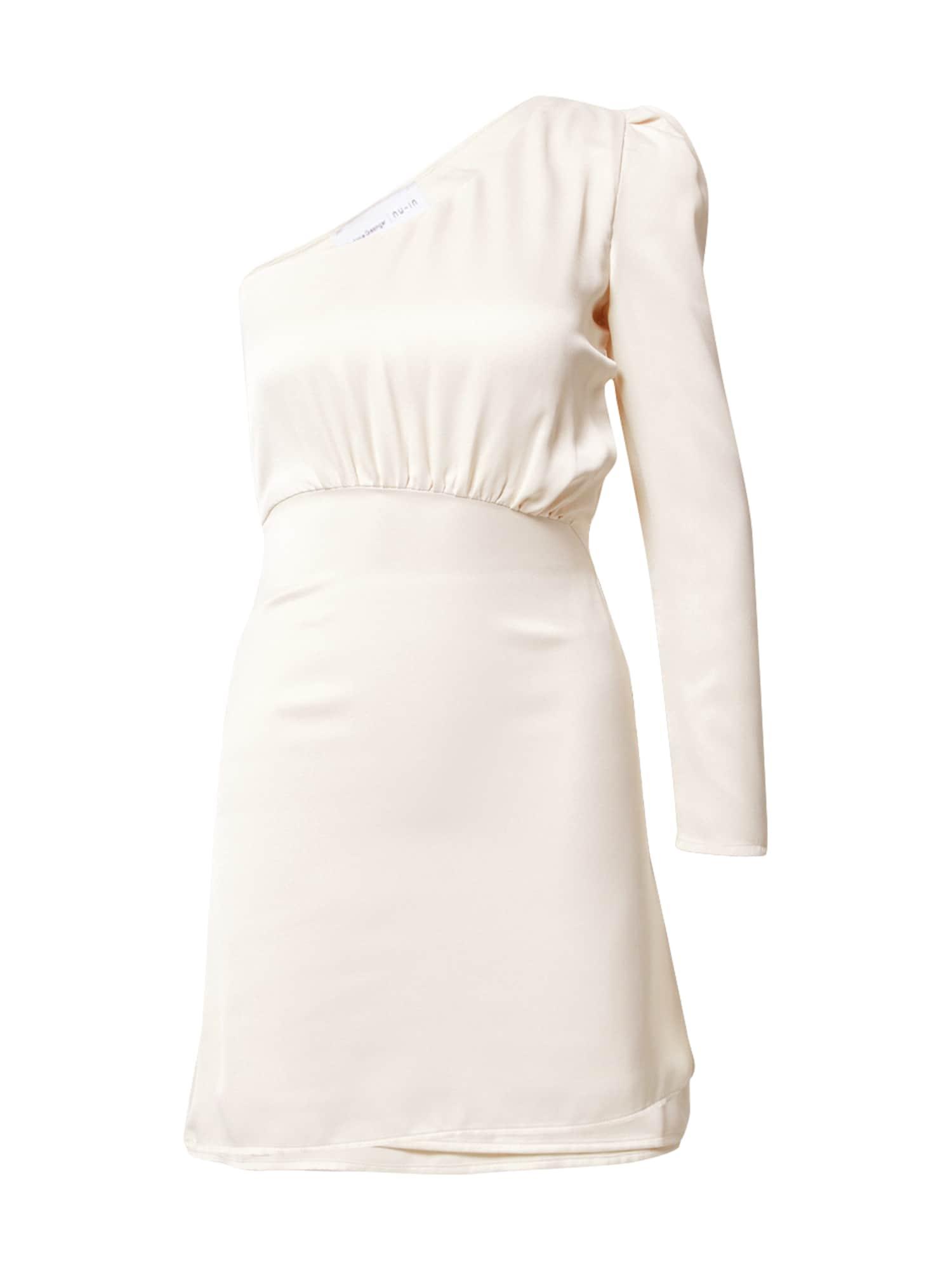 NU-IN Kokteilinė suknelė kremo