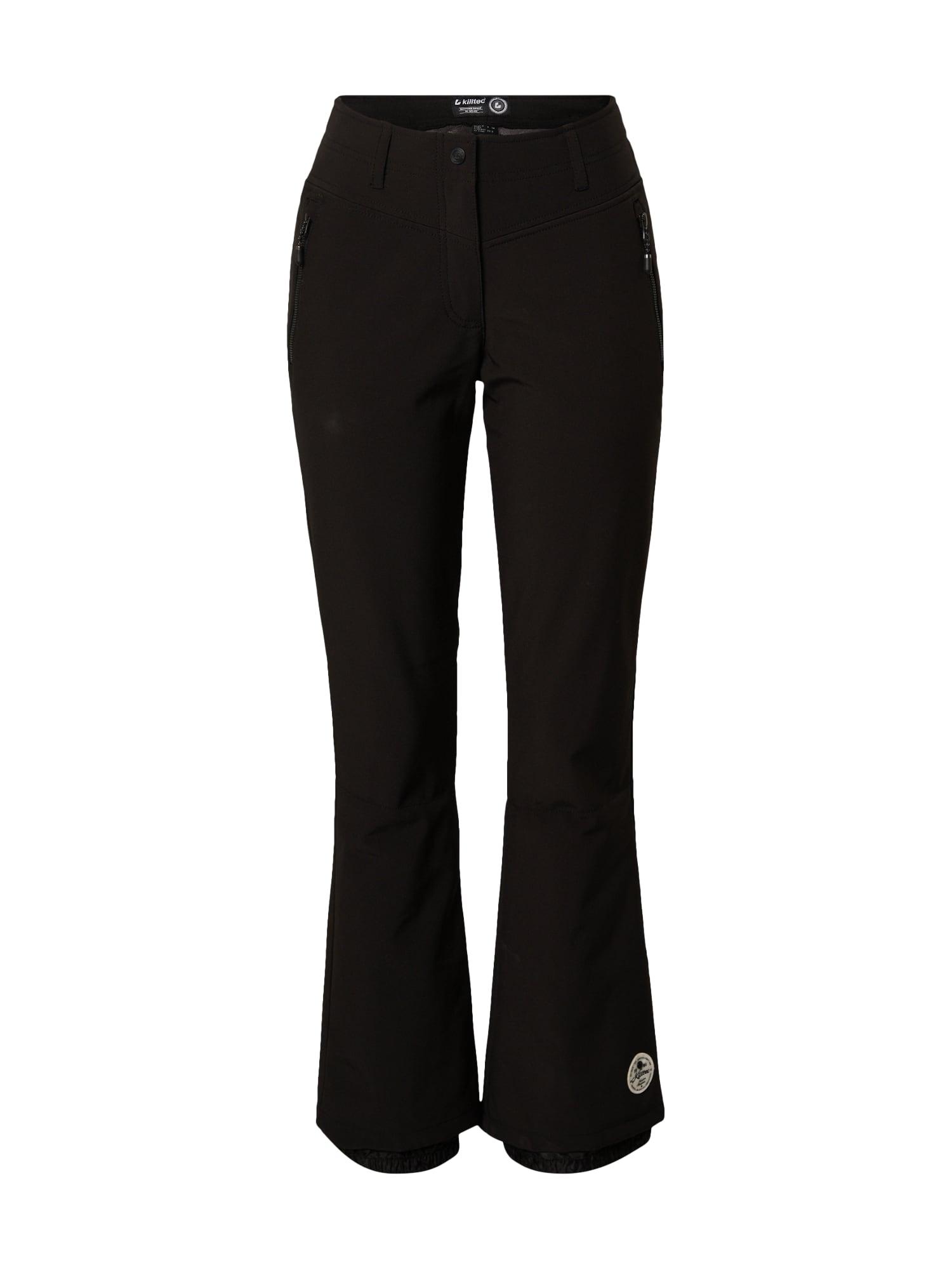 KILLTEC Sportovní kalhoty 'Jilia'  černá