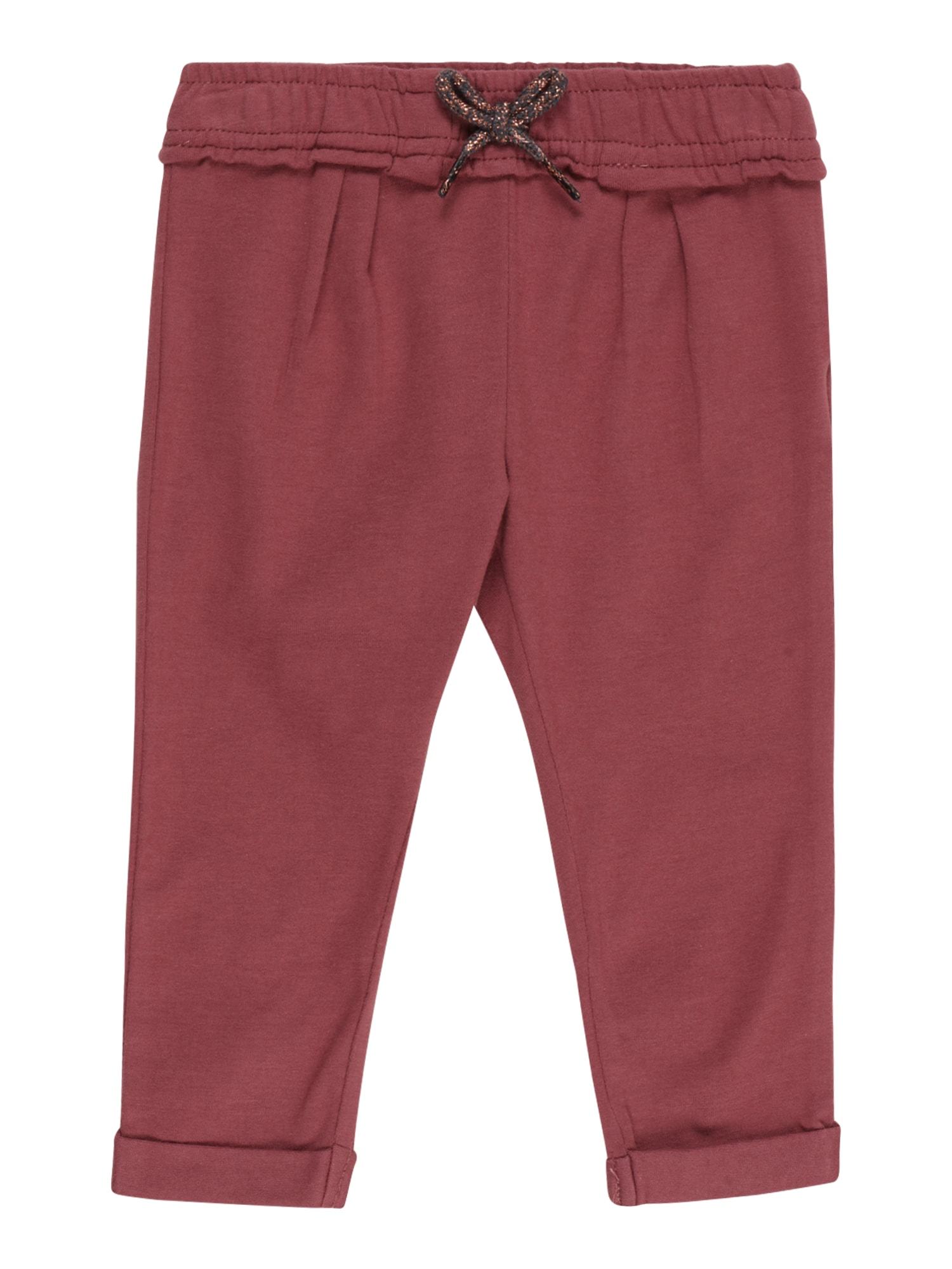 Noppies Kalhoty 'Santa Cruz'  tmavě červená
