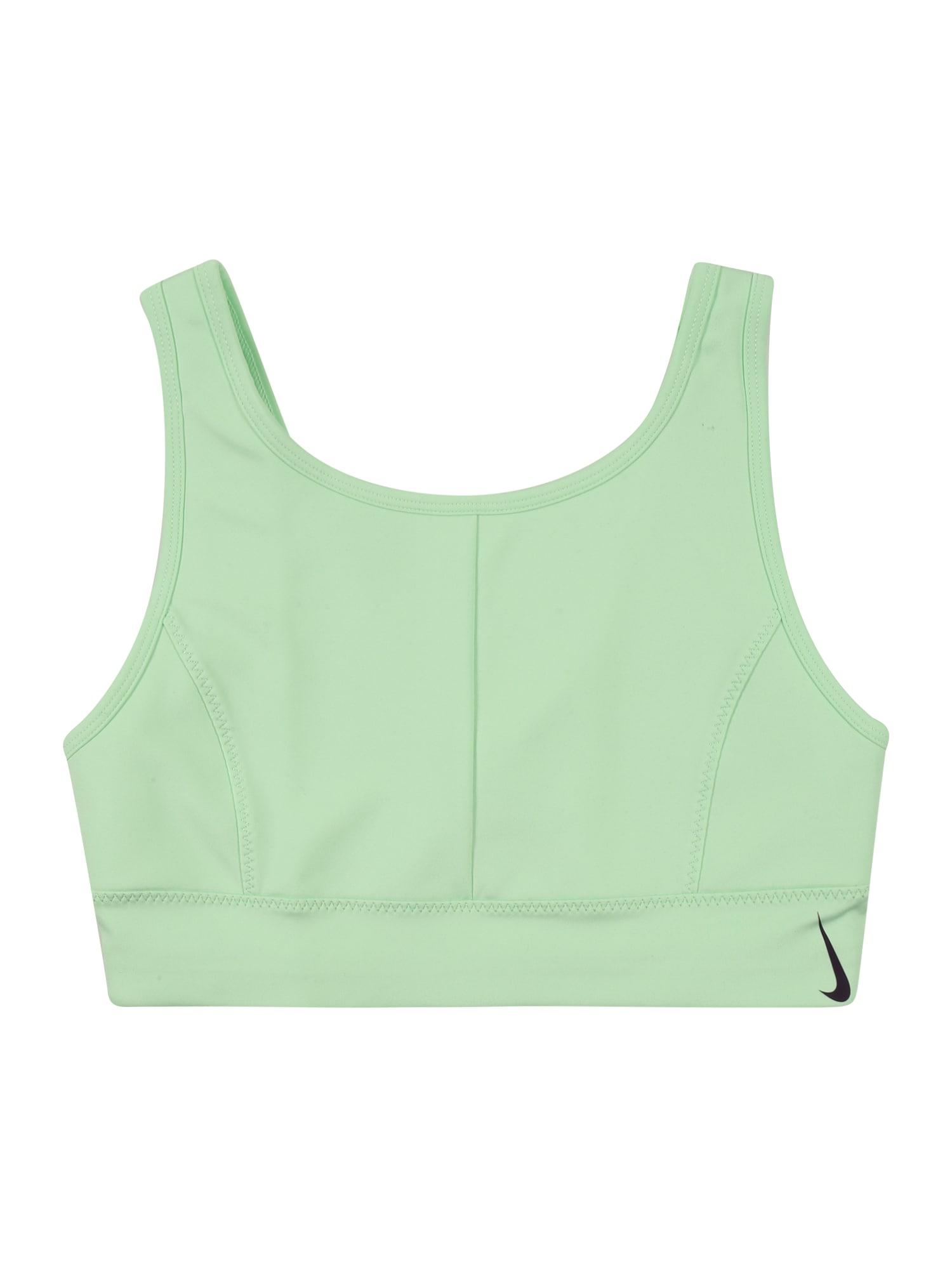 NIKE Sportinio stiliaus apatiniai drabužiai šviesiai žalia