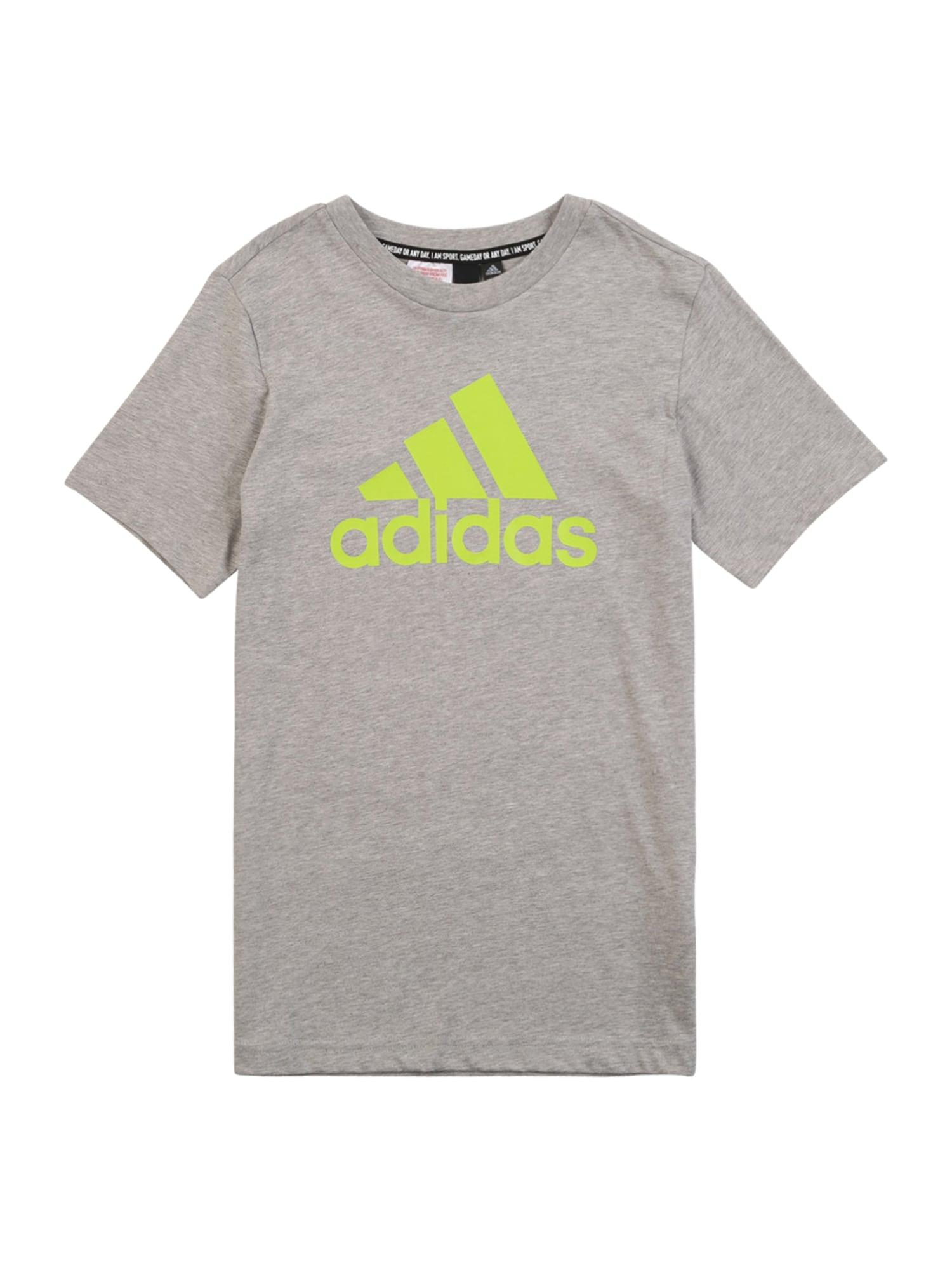 ADIDAS PERFORMANCE Funkční tričko  šedá