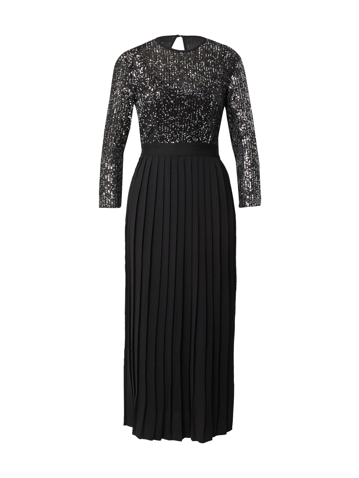 Little Mistress Vakarinė suknelė juoda / sidabrinė