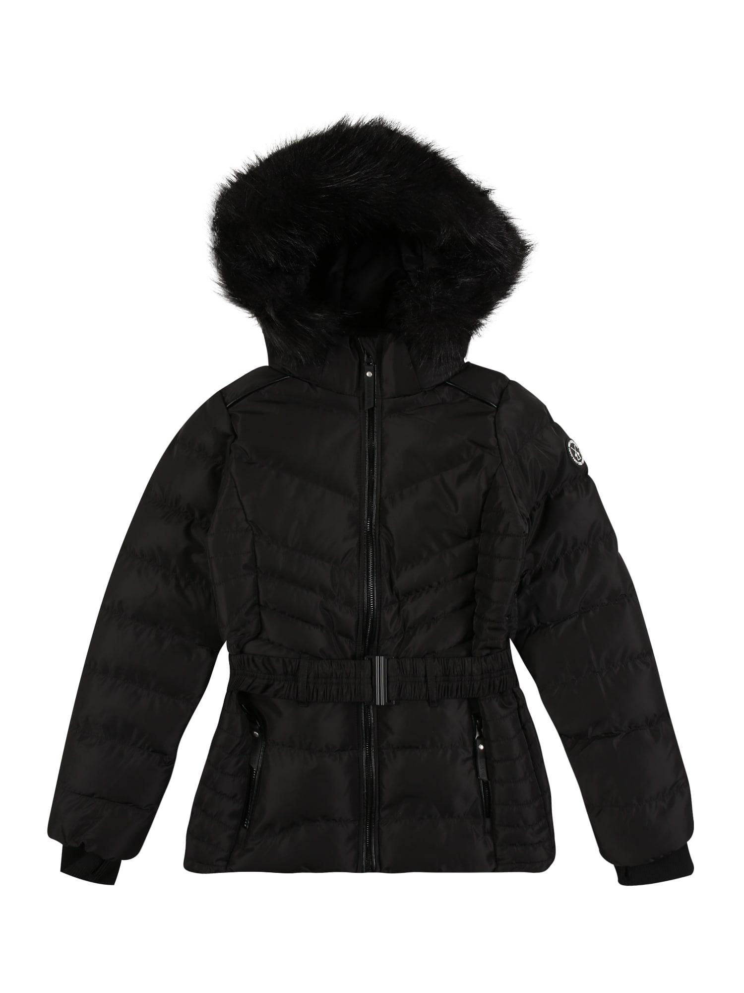 Cars Jeans Žieminė striukė 'MIRARI' juoda