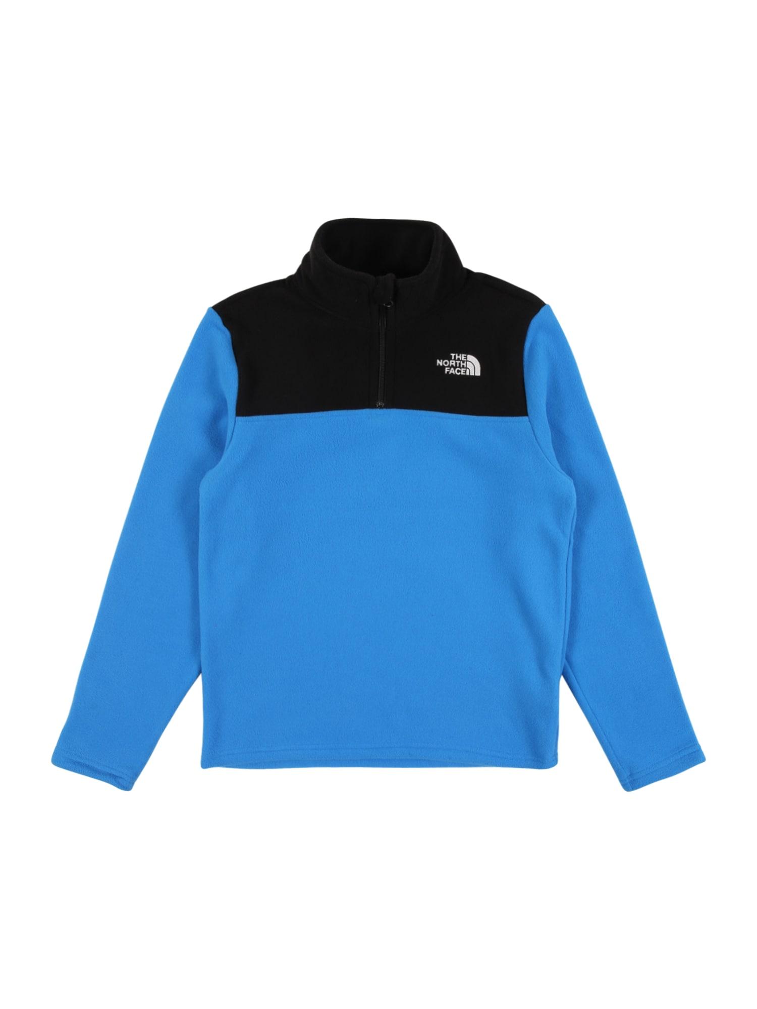 THE NORTH FACE Sportovní svetr 'GLACIER '  modrá / černá