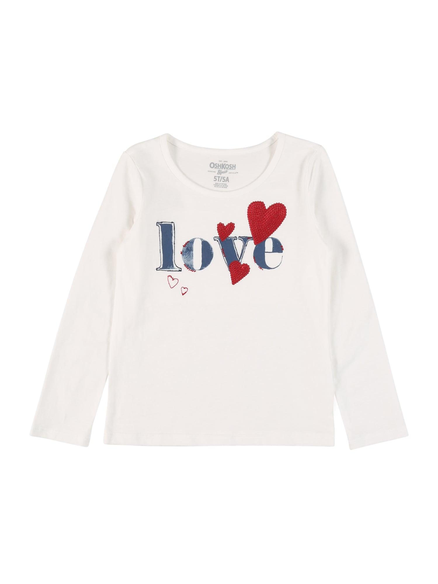 OshKosh Marškinėliai balta / mėlyna / raudona
