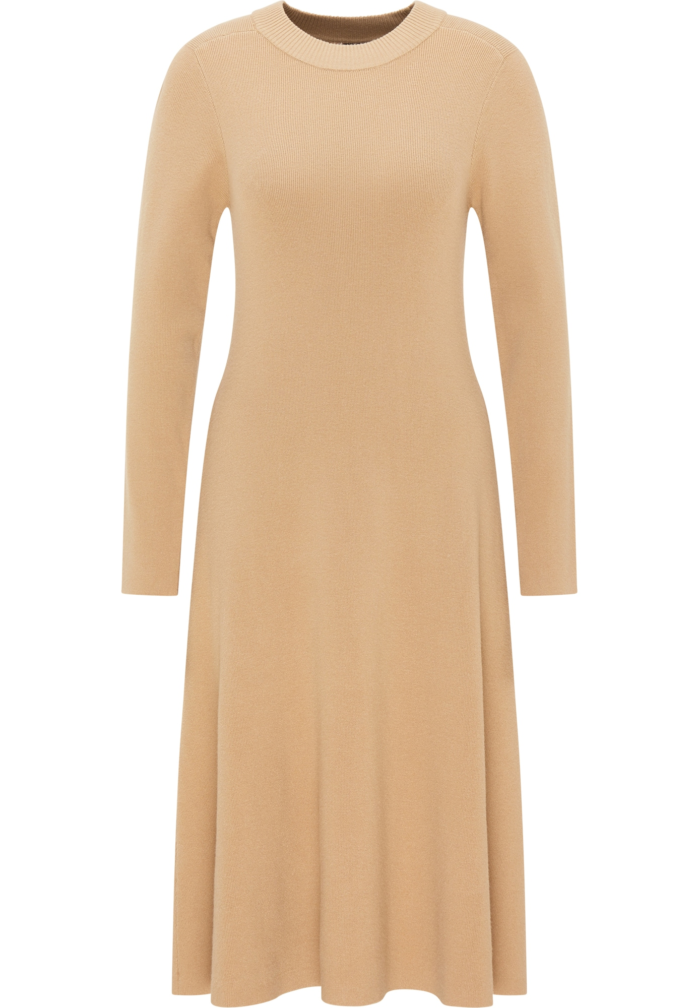 DreiMaster Klassik Megzta suknelė ruda