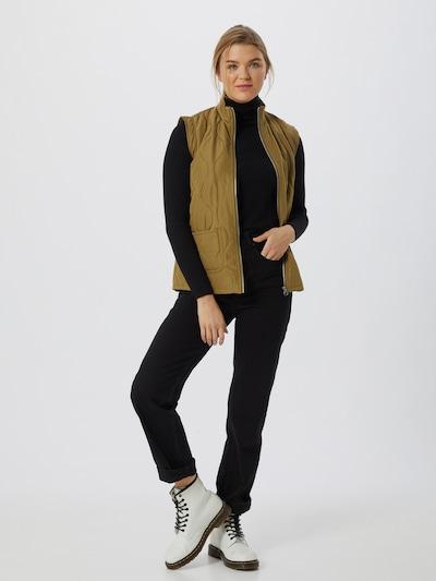 Vero Moda Emma kurze Steppweste mit Bindetaille