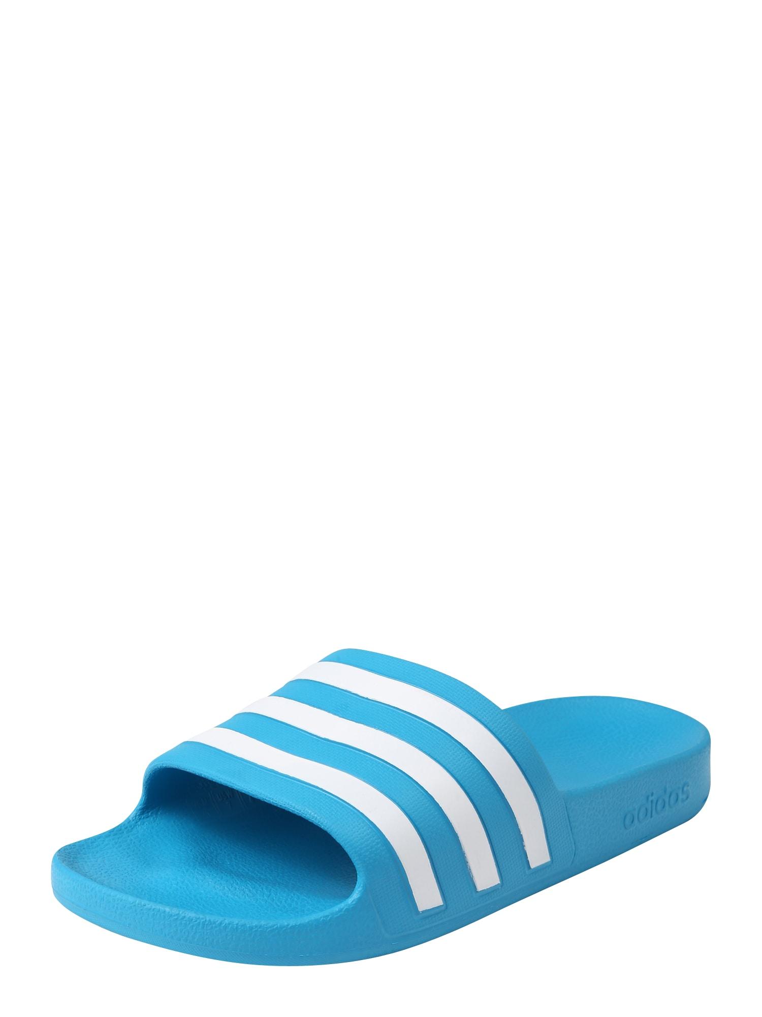 ADIDAS PERFORMANCE Sandalai / maudymosi batai balta / šviesiai mėlyna