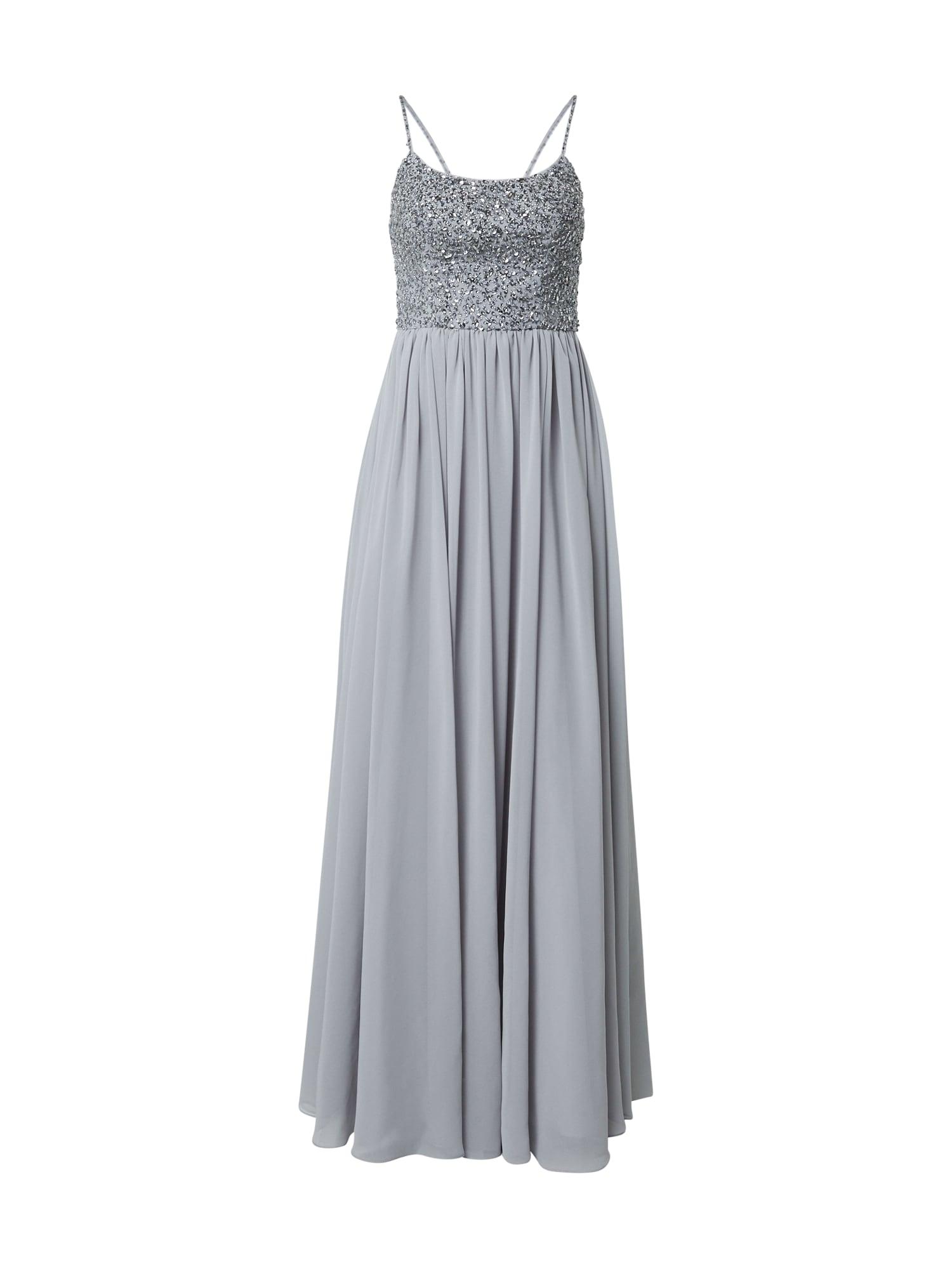 Laona Vakarinė suknelė melsvai pilka