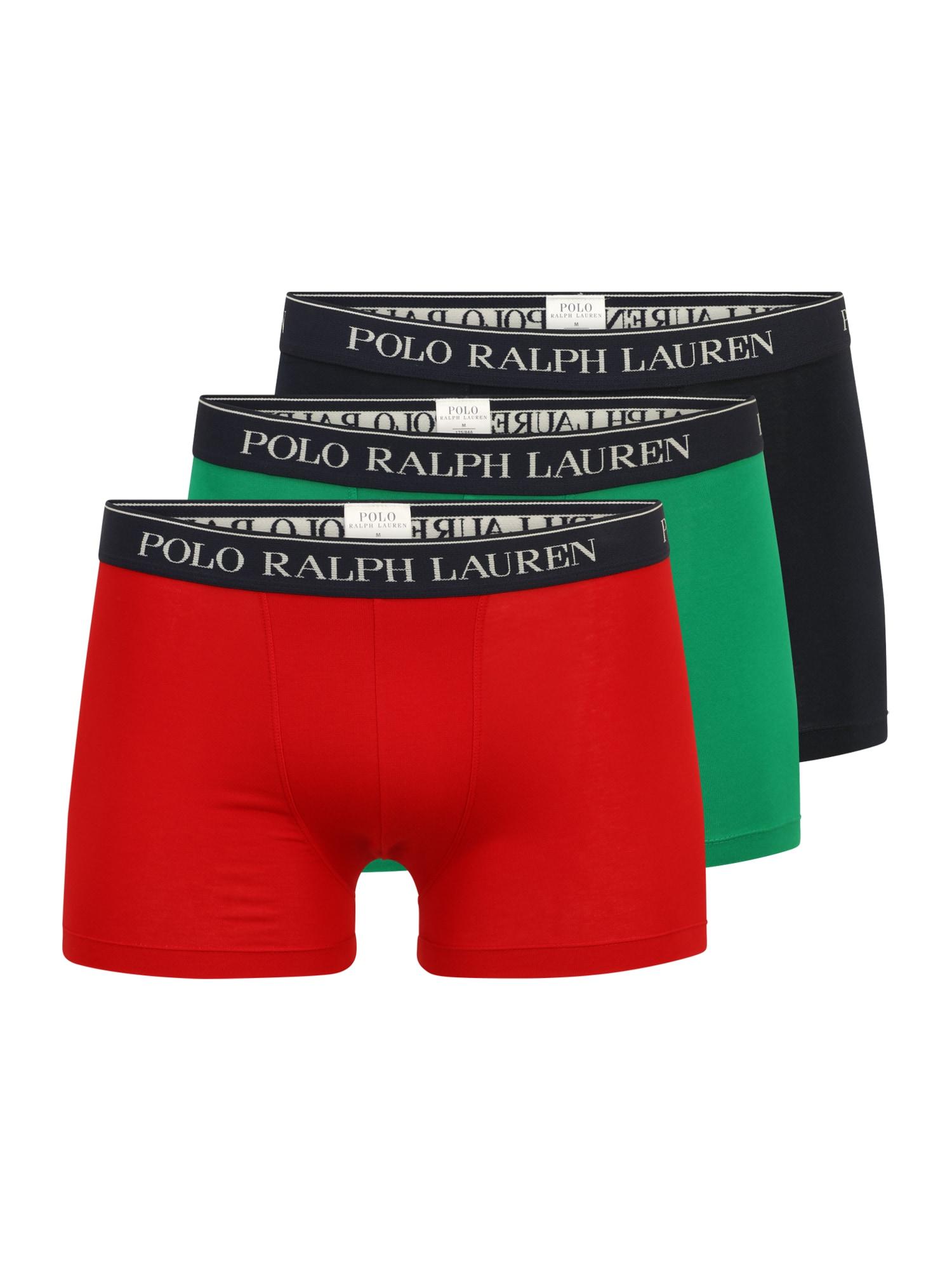 Polo Ralph Lauren Boxerky  červená / limetková / noční modrá / bílá / černá