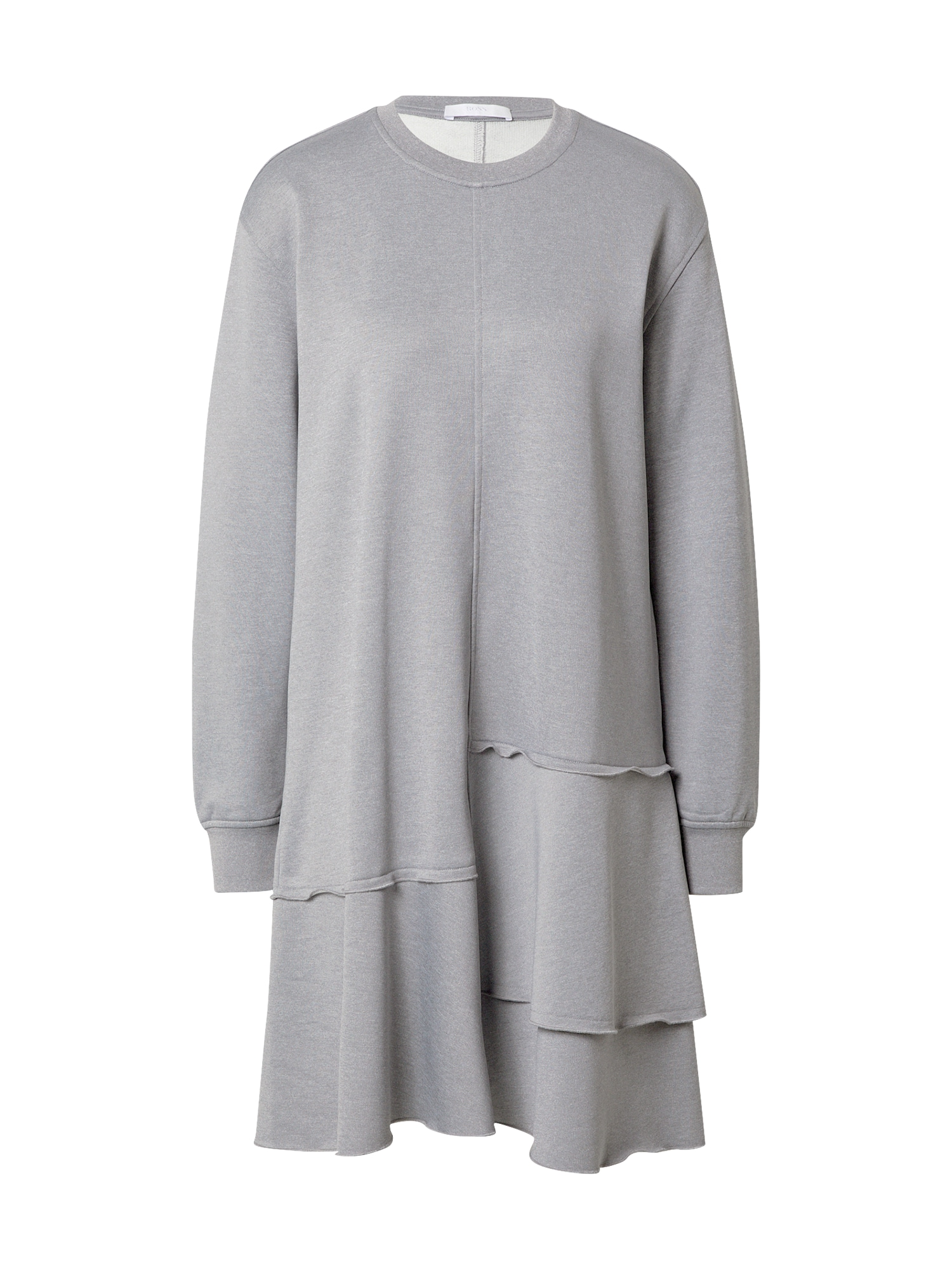 BOSS Suknelė šviesiai pilka