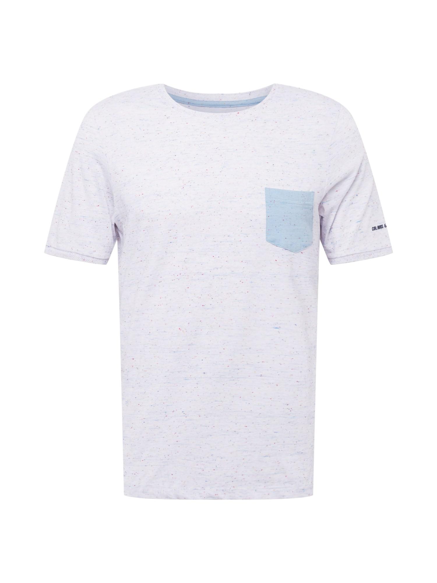 COLOURS & SONS Marškinėliai balta / mišrios spalvos