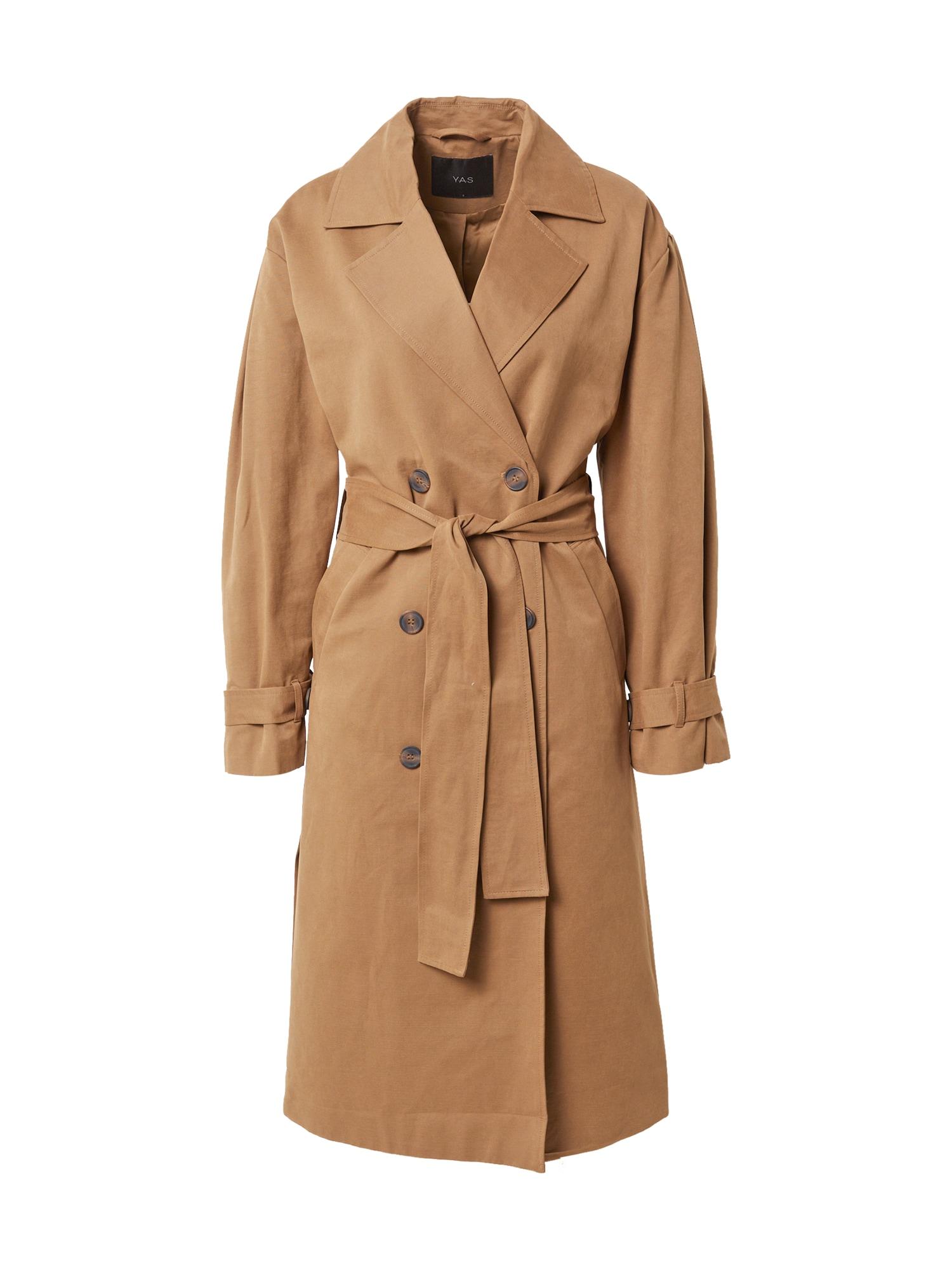 Y.A.S Demisezoninis paltas 'EMIRA' šviesiai ruda