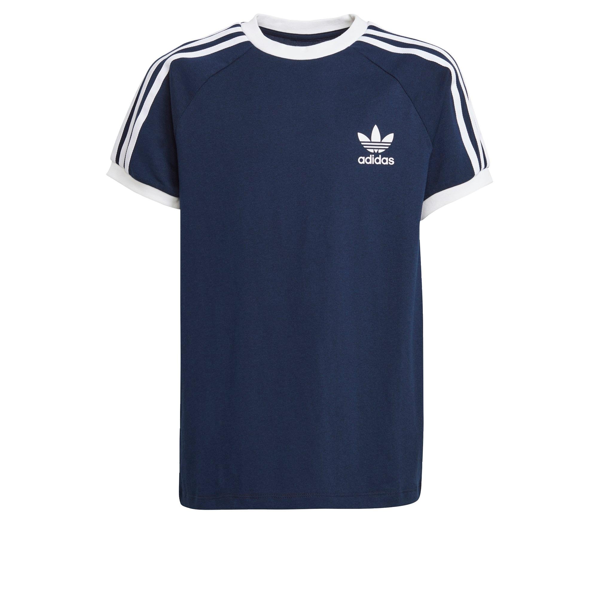 ADIDAS ORIGINALS Marškinėliai tamsiai mėlyna / balta