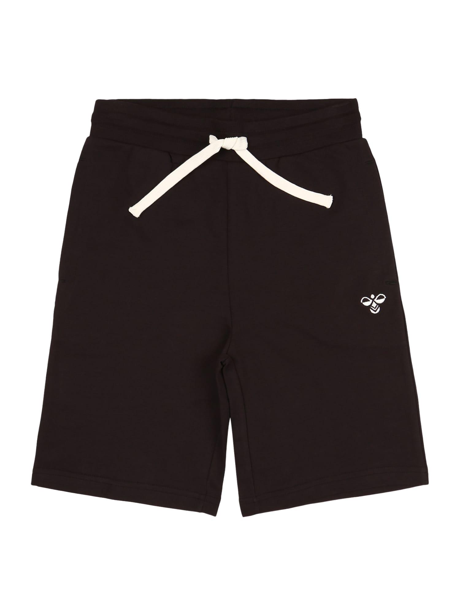 Hummel Sportinės kelnės juoda / balta