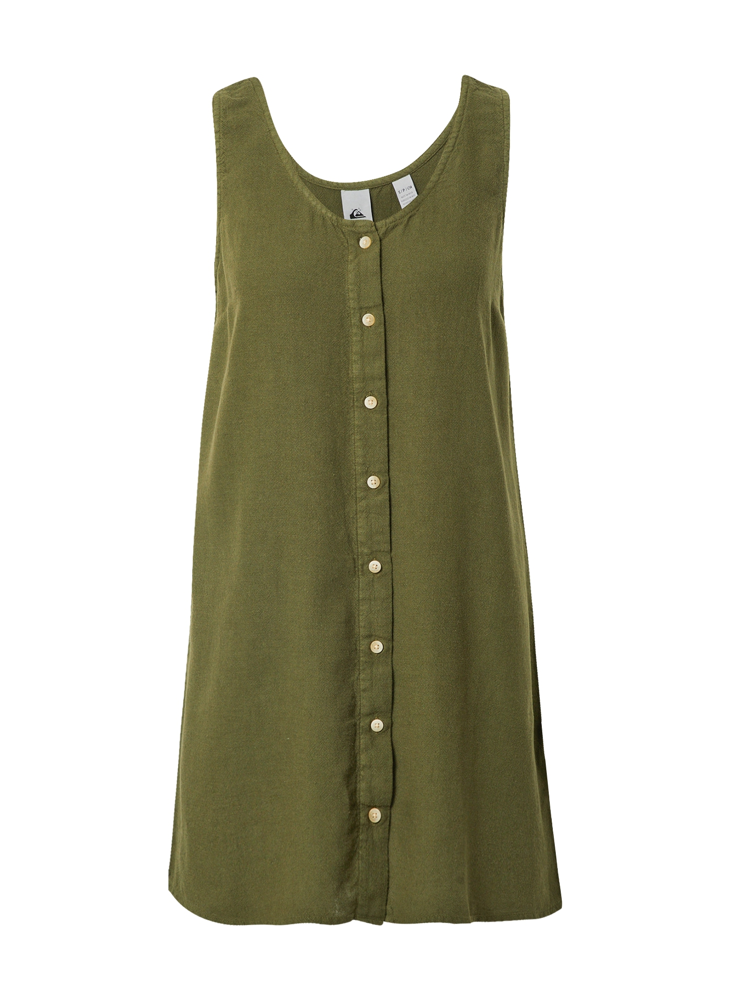 QUIKSILVER Palaidinės tipo suknelė tamsiai žalia