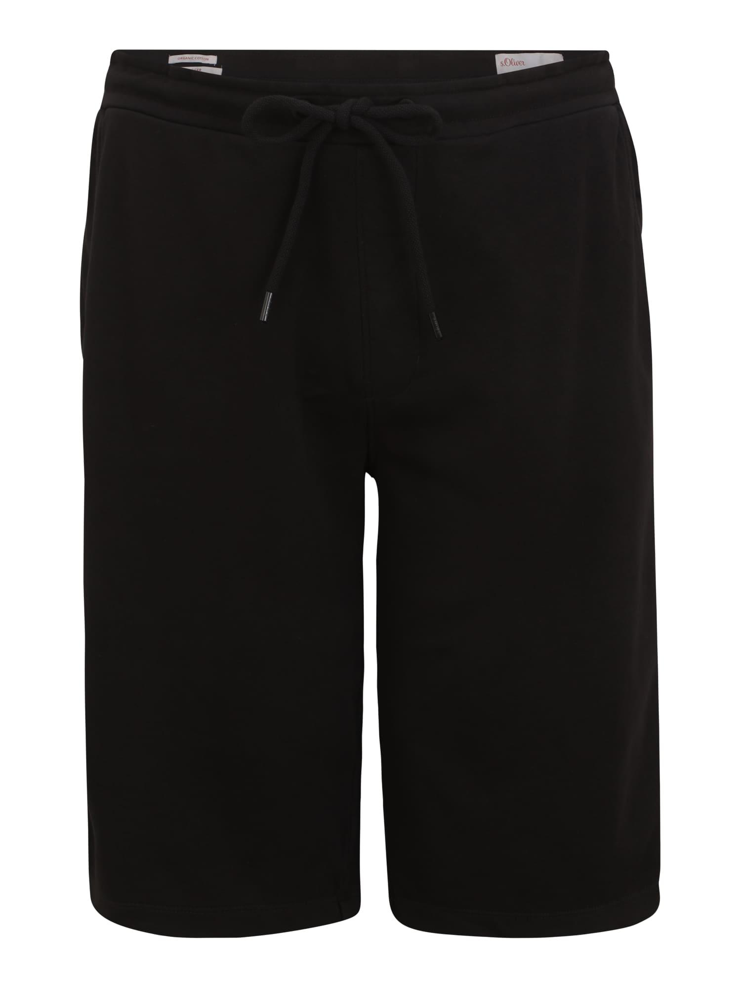 s.Oliver Red Label Big & Tall Kelnės juoda