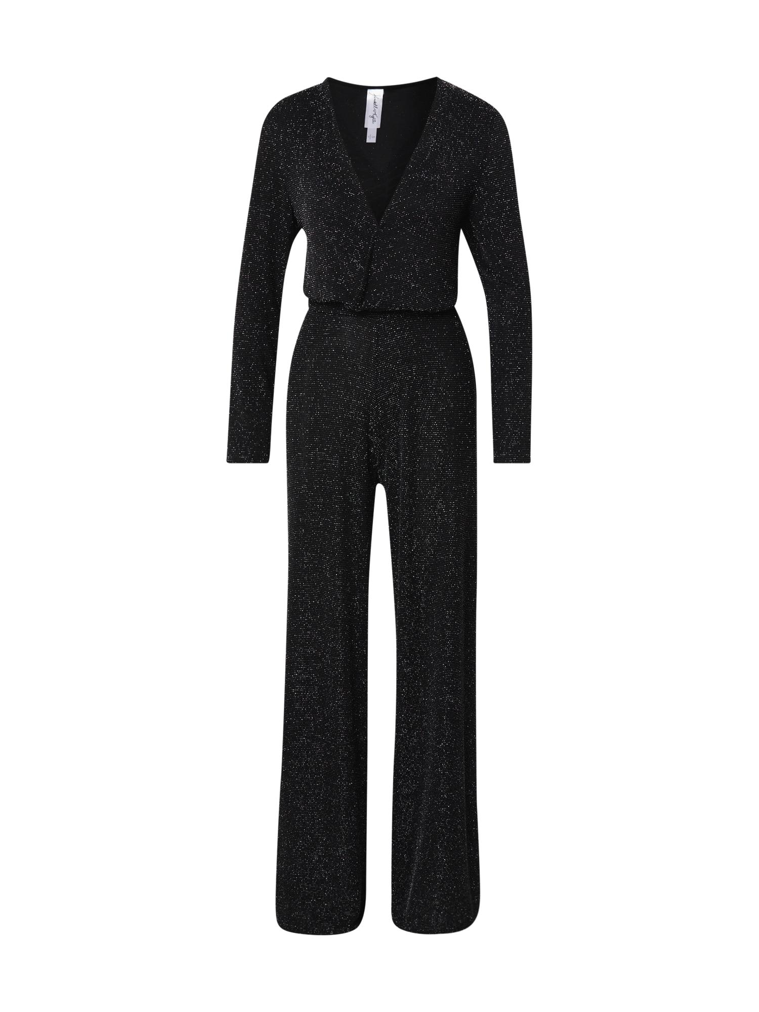 KENDALL + KYLIE Kombinezono tipo kostiumas juoda / sidabras
